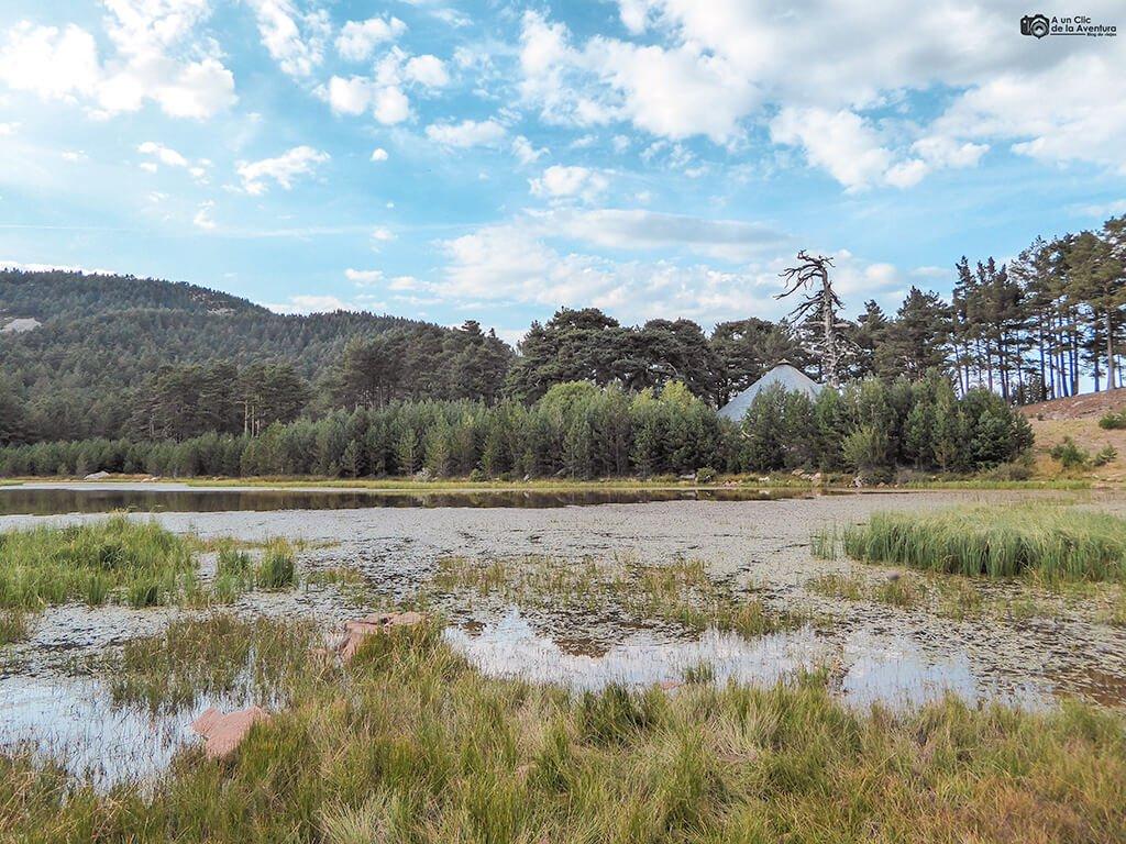 Laguna de la Cascada, Neila