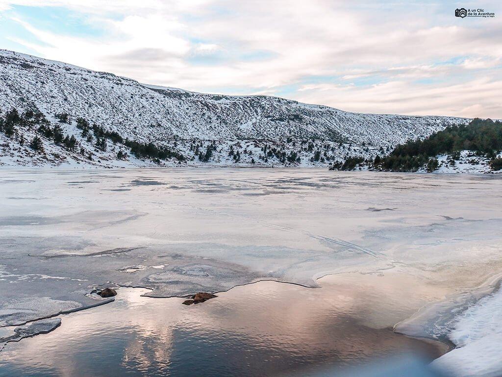 Lagunas de Neila en invierno