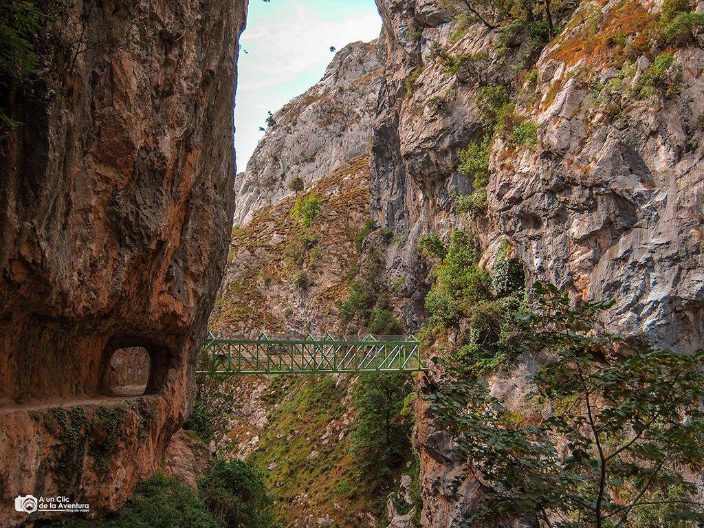 Puente Bolín en la ruta del Cares