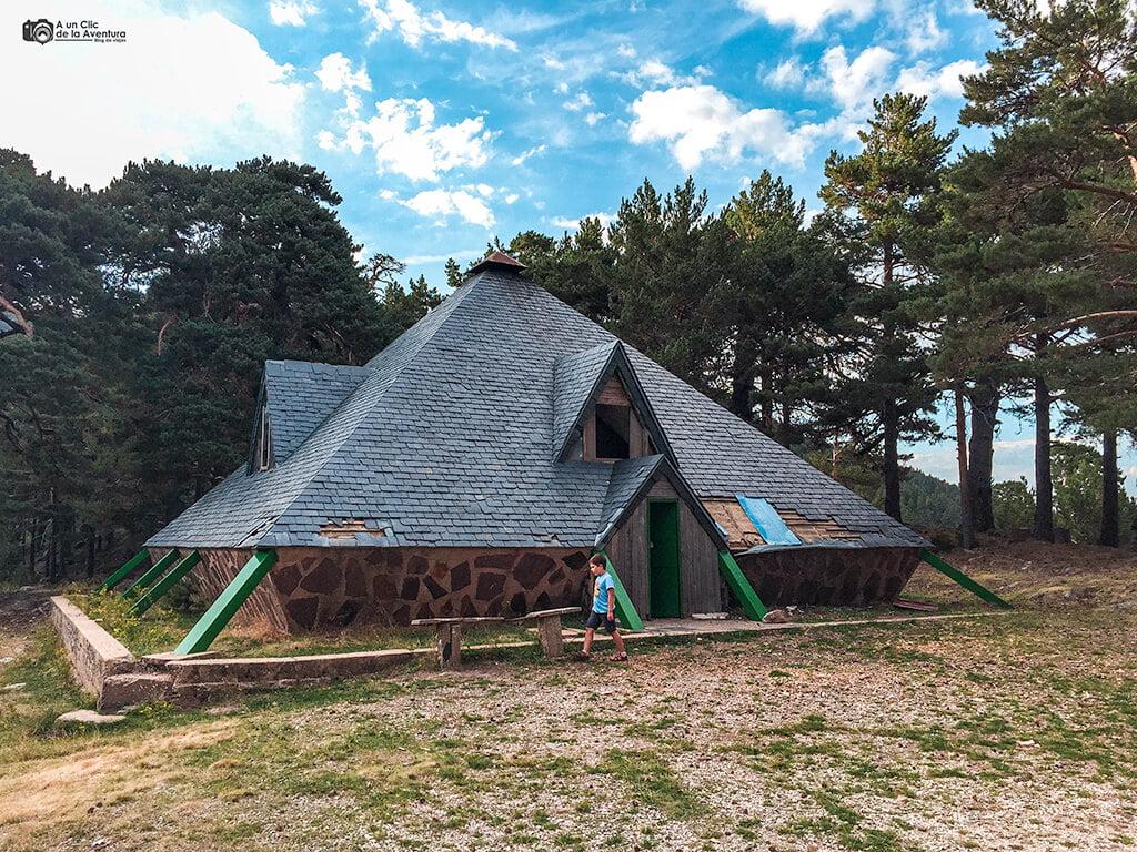 Refugio de la Laguna de la Cascada, Neila