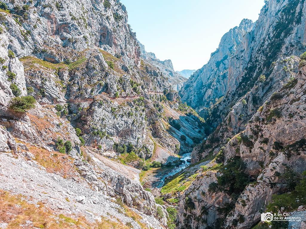 Ruta del Cares antes de llegar a Culiembro