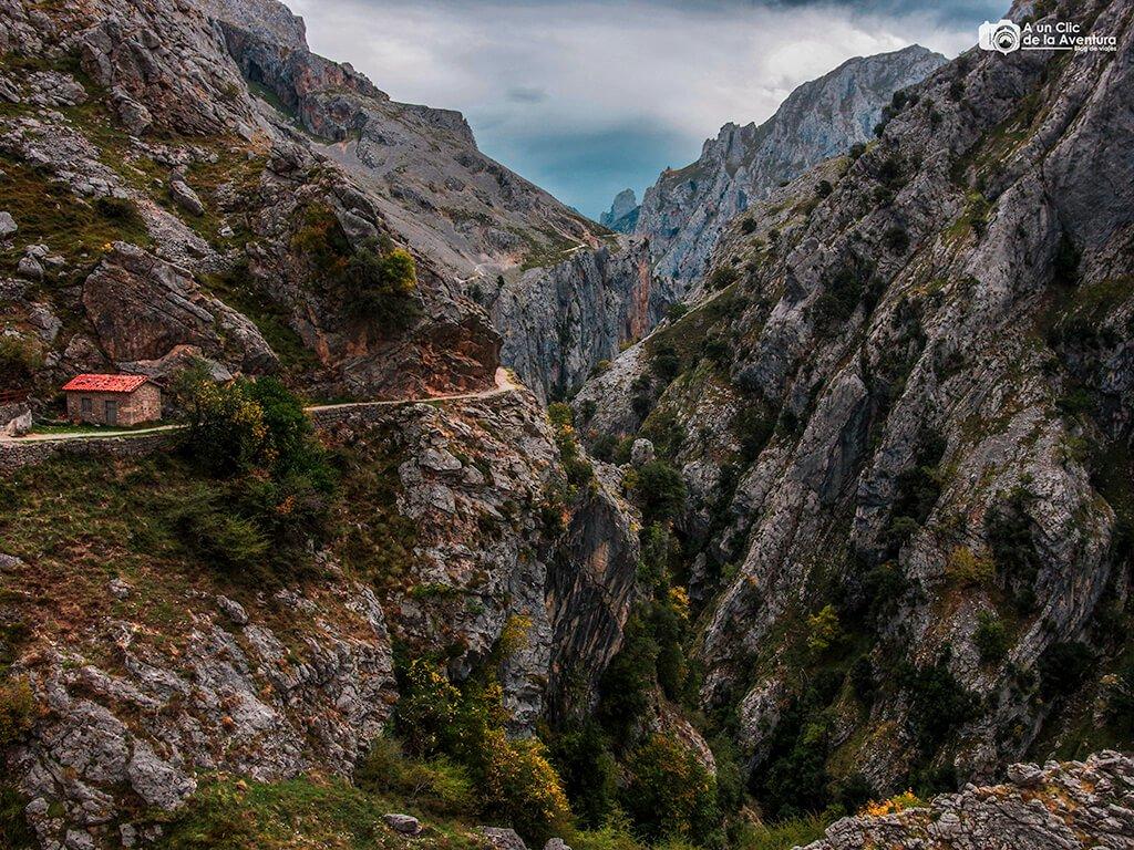 Ruta del Cares cerca de Culiembro