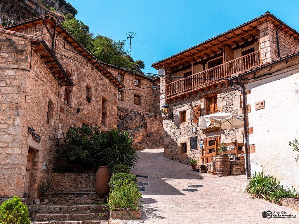 Arquitectura tradicional de Orbaneja del Castillo