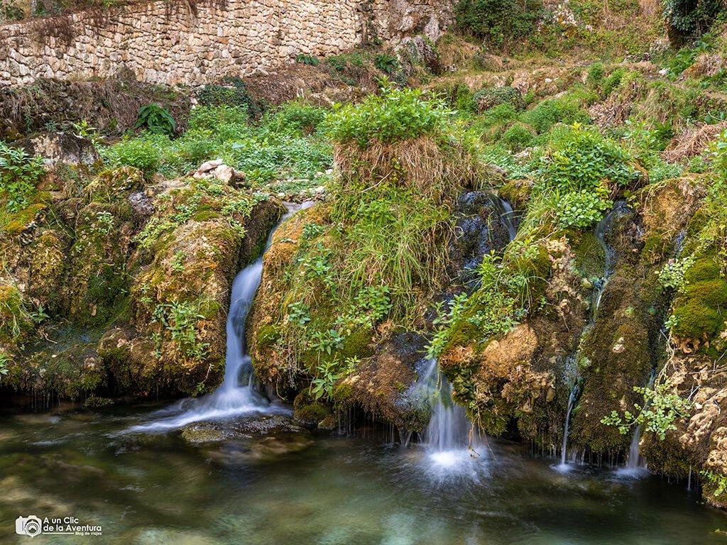 Arroyo de la Cueva del Agua de Orbaneja del Castillo