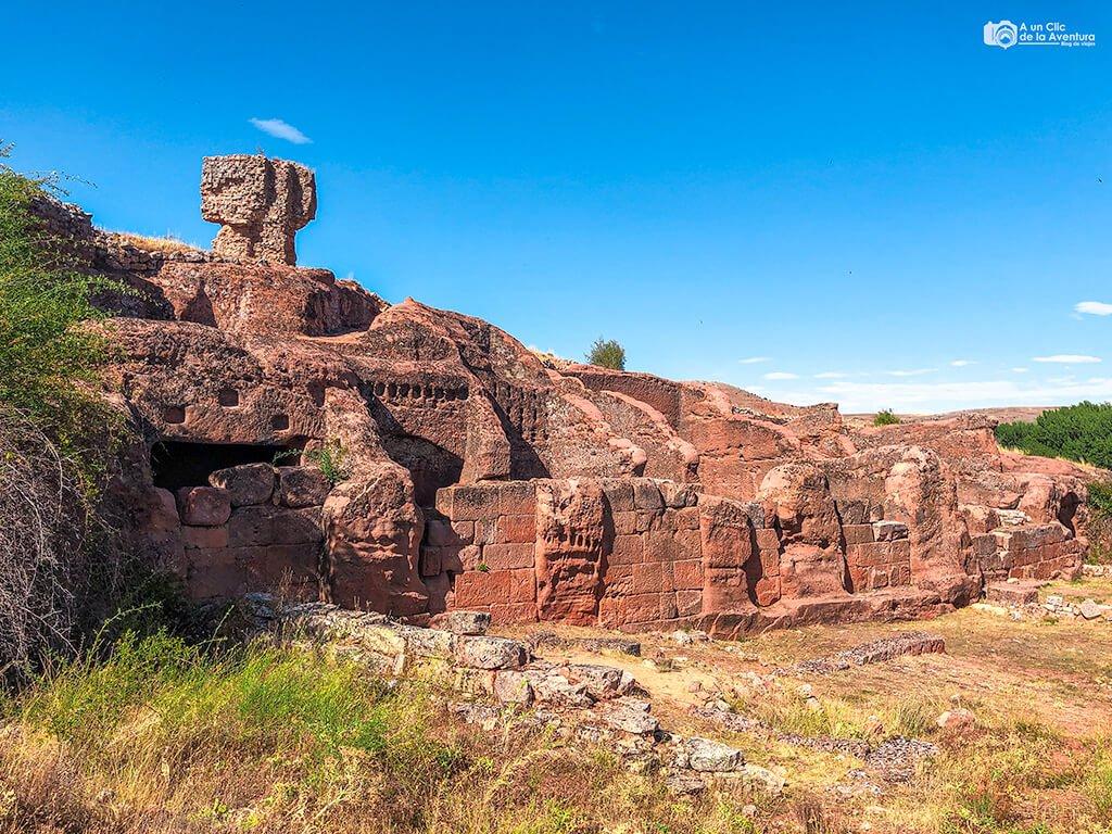 Conjunto rupestre del Sur en Tiermes