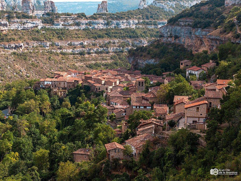 Vistas desde el Mirador de Orbaneja del Castillo