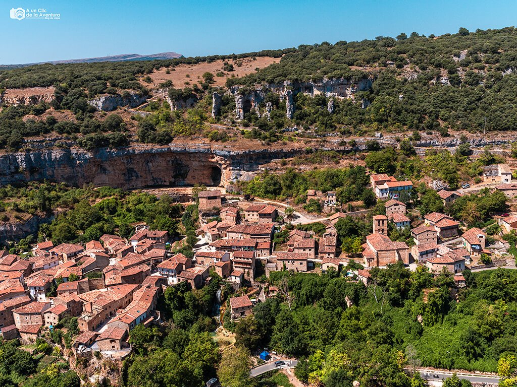 """Vistas desde """"El Castillo"""" de Orbaneja"""