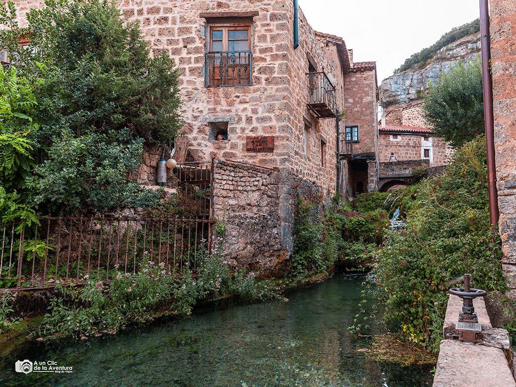 Presa del molino de Orbaneja del Castillo