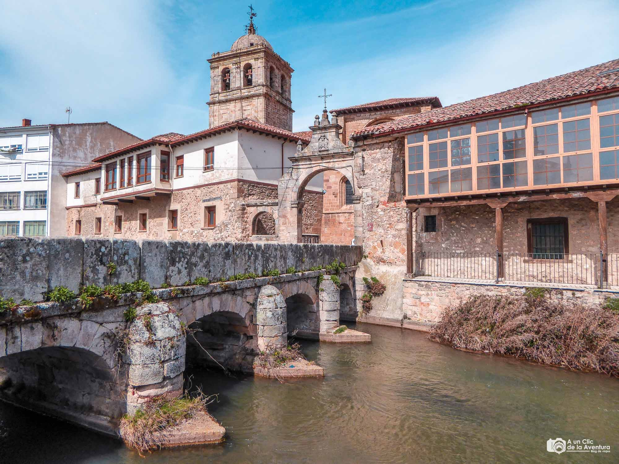 Centro histórico de Aguilar de Campoo