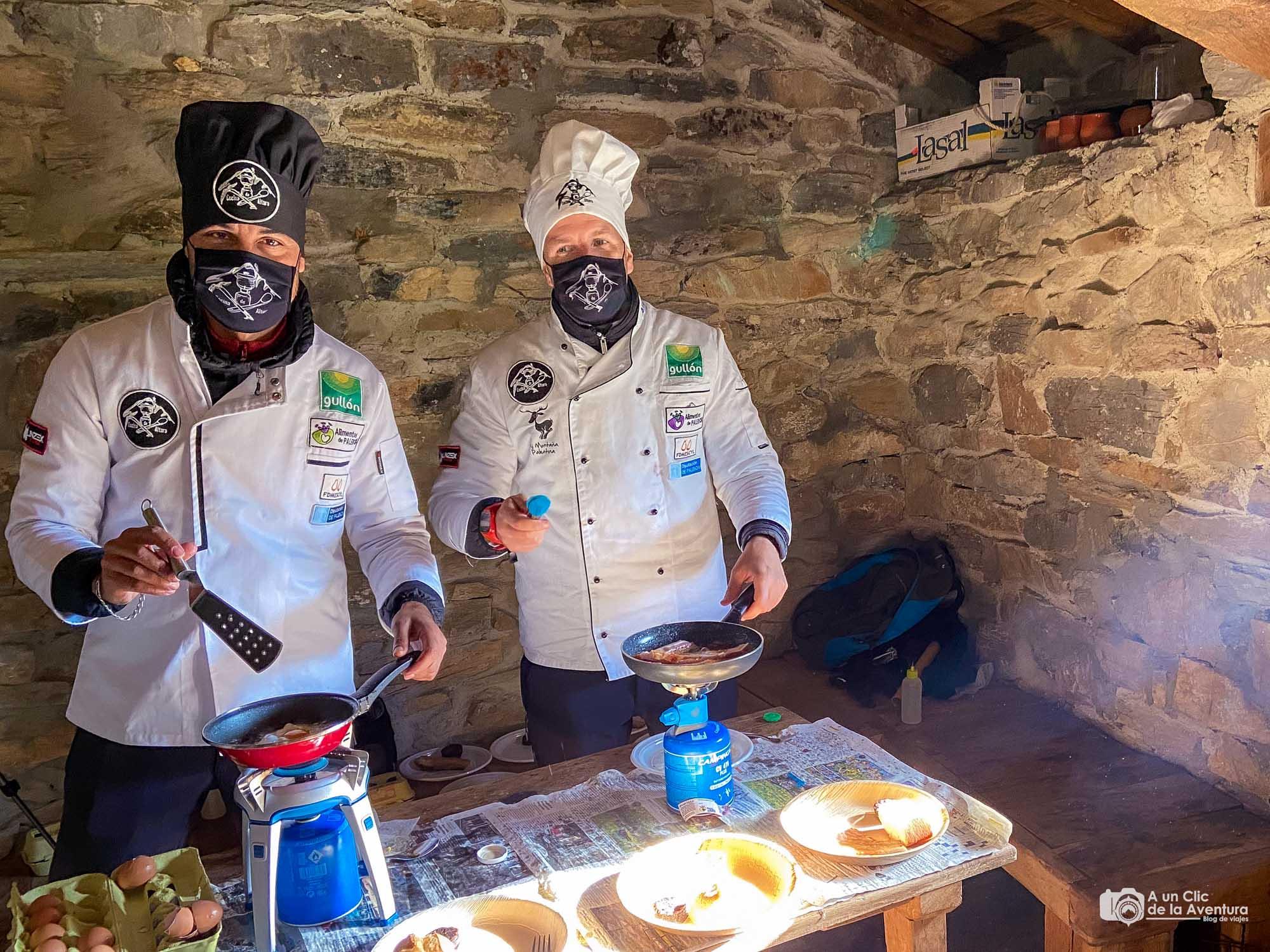 Almuerzo en la Montaña Palentina por Cocina de Altura