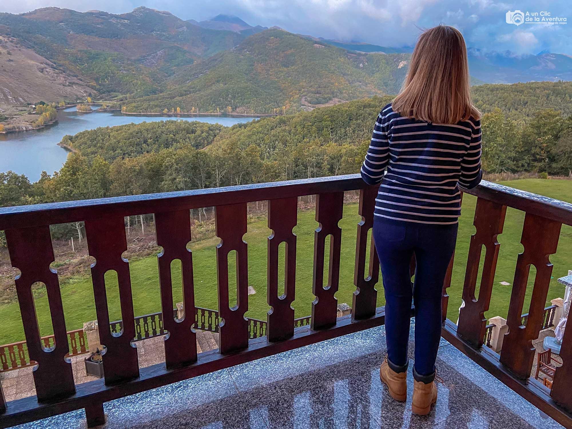 Vistas desde el Parador de Cervera de Pisuerga - Montaña Palentina