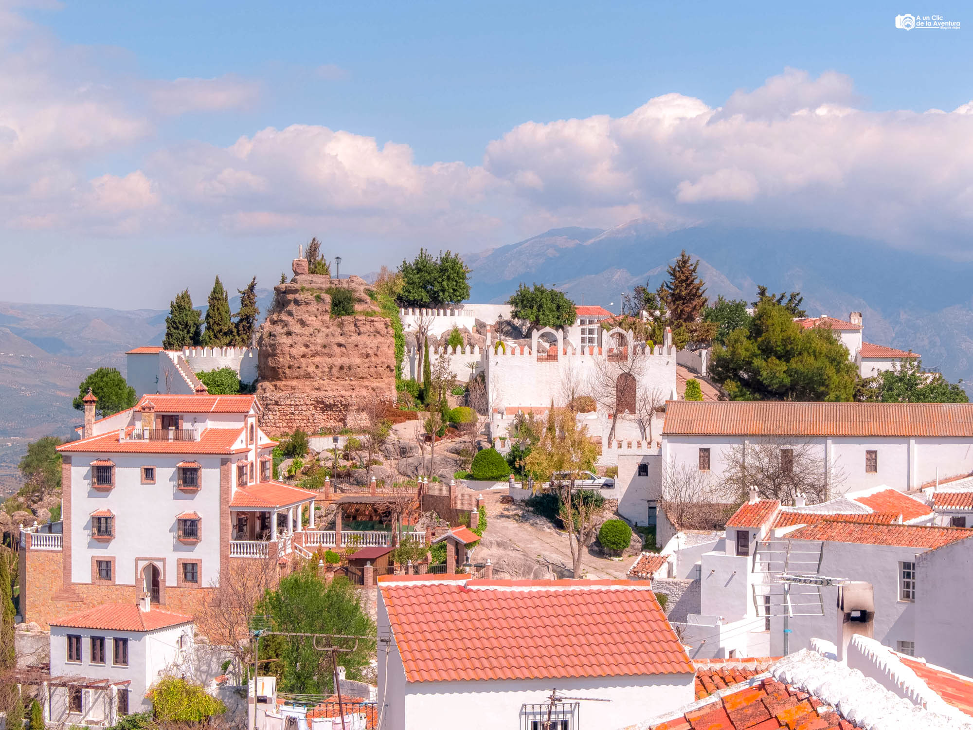 Panorámica de Comares, que ver cerca de Málaga