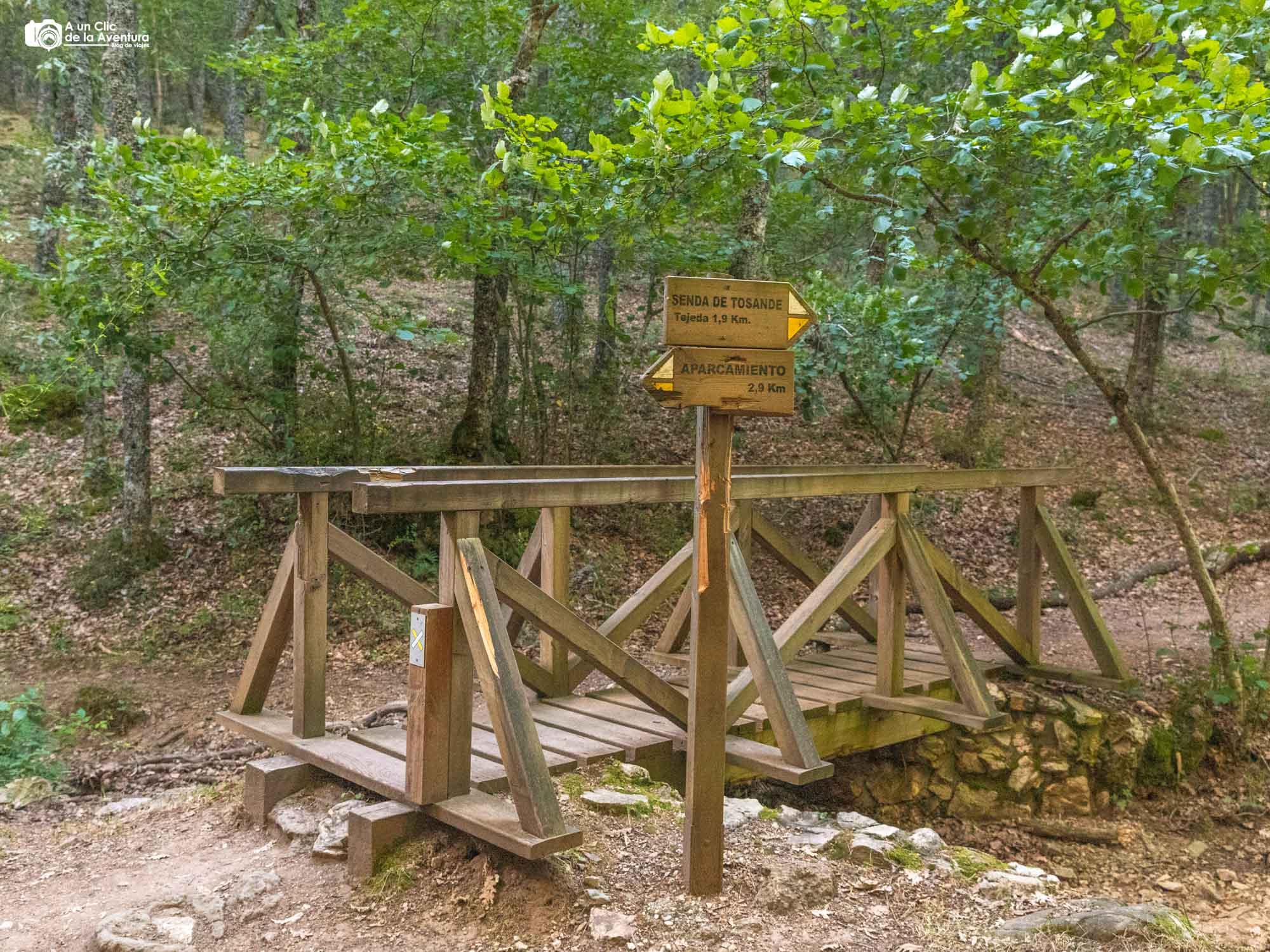 Puente sobre el Arroyo de Tosande