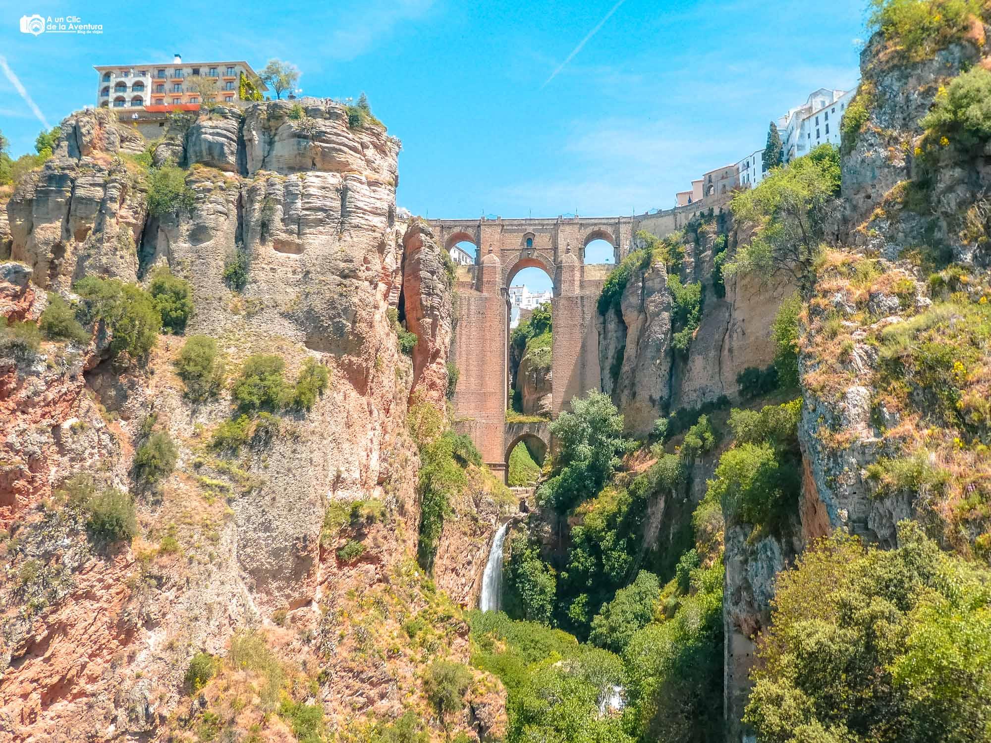 Puente Nuevo de Ronda que ver cerca de Málaga