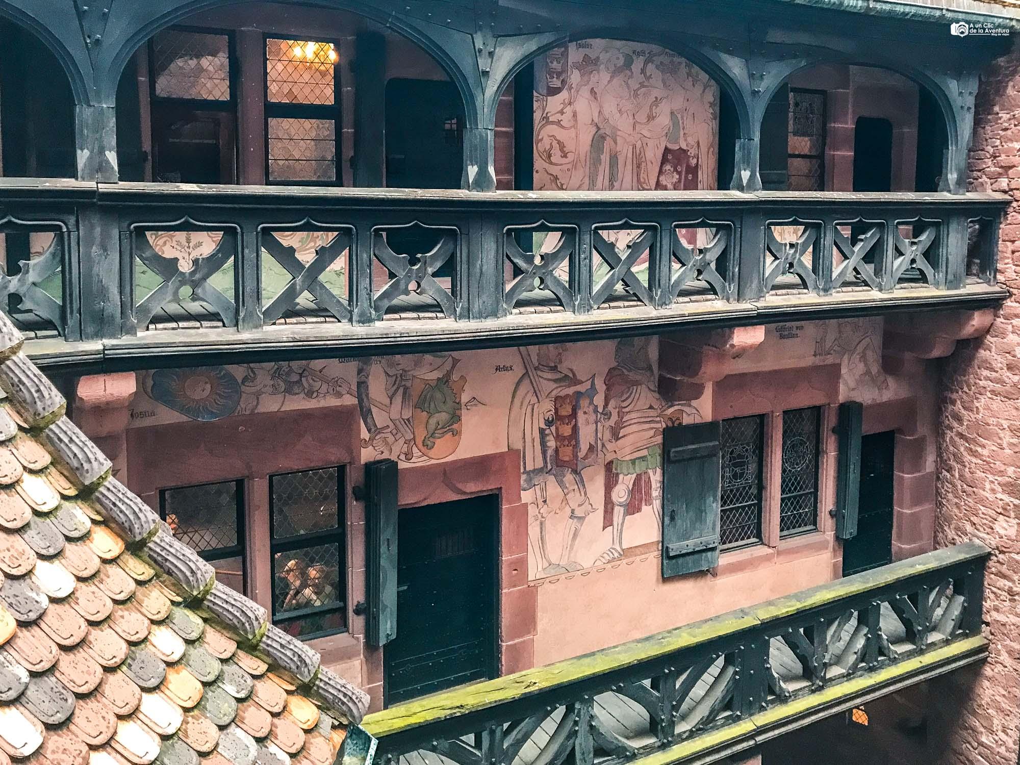 Apartamentos del Señor del Castillo de Haut-Koenigsbourg