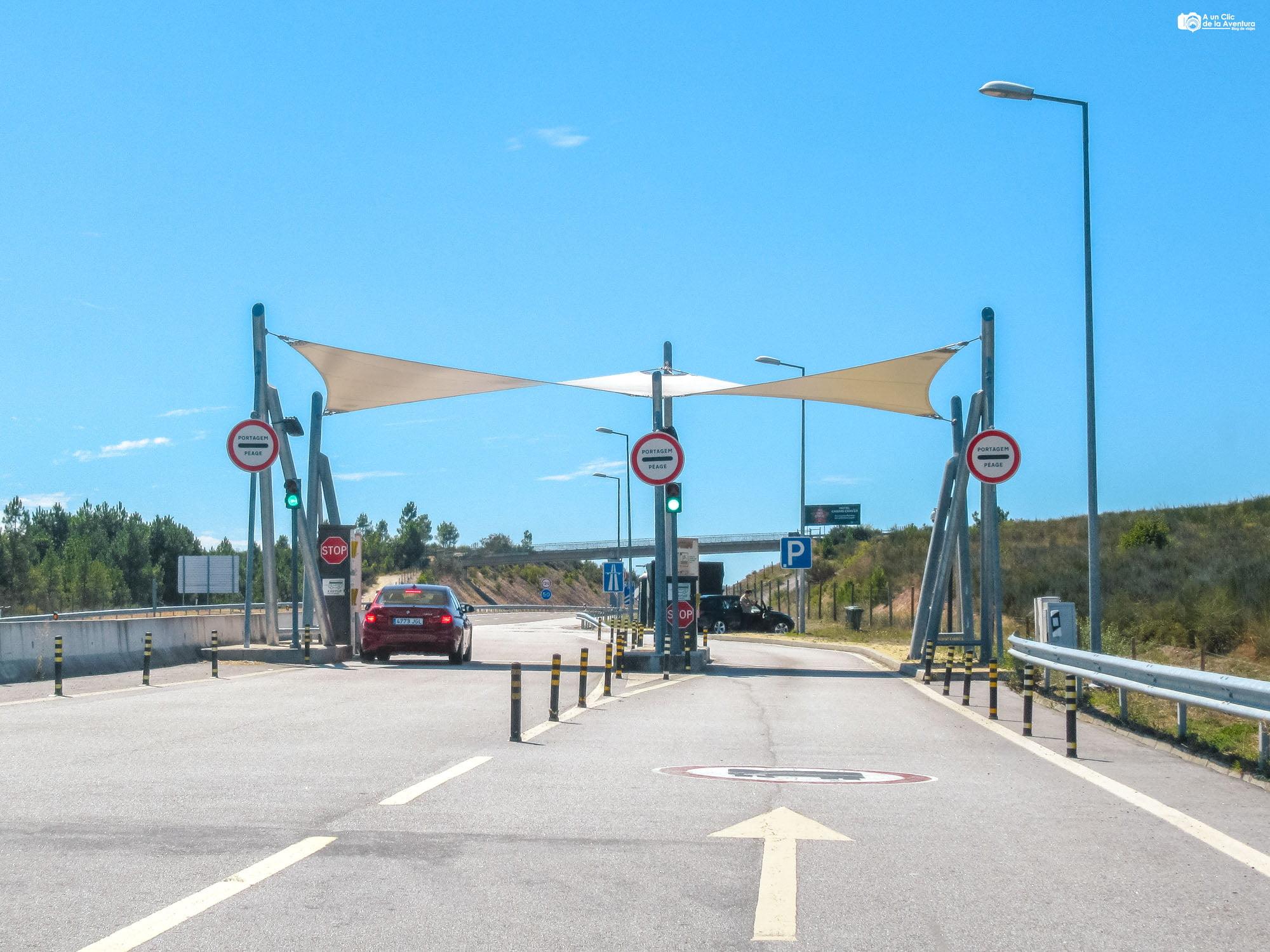 Área de registro de EASYtoll, Portugal