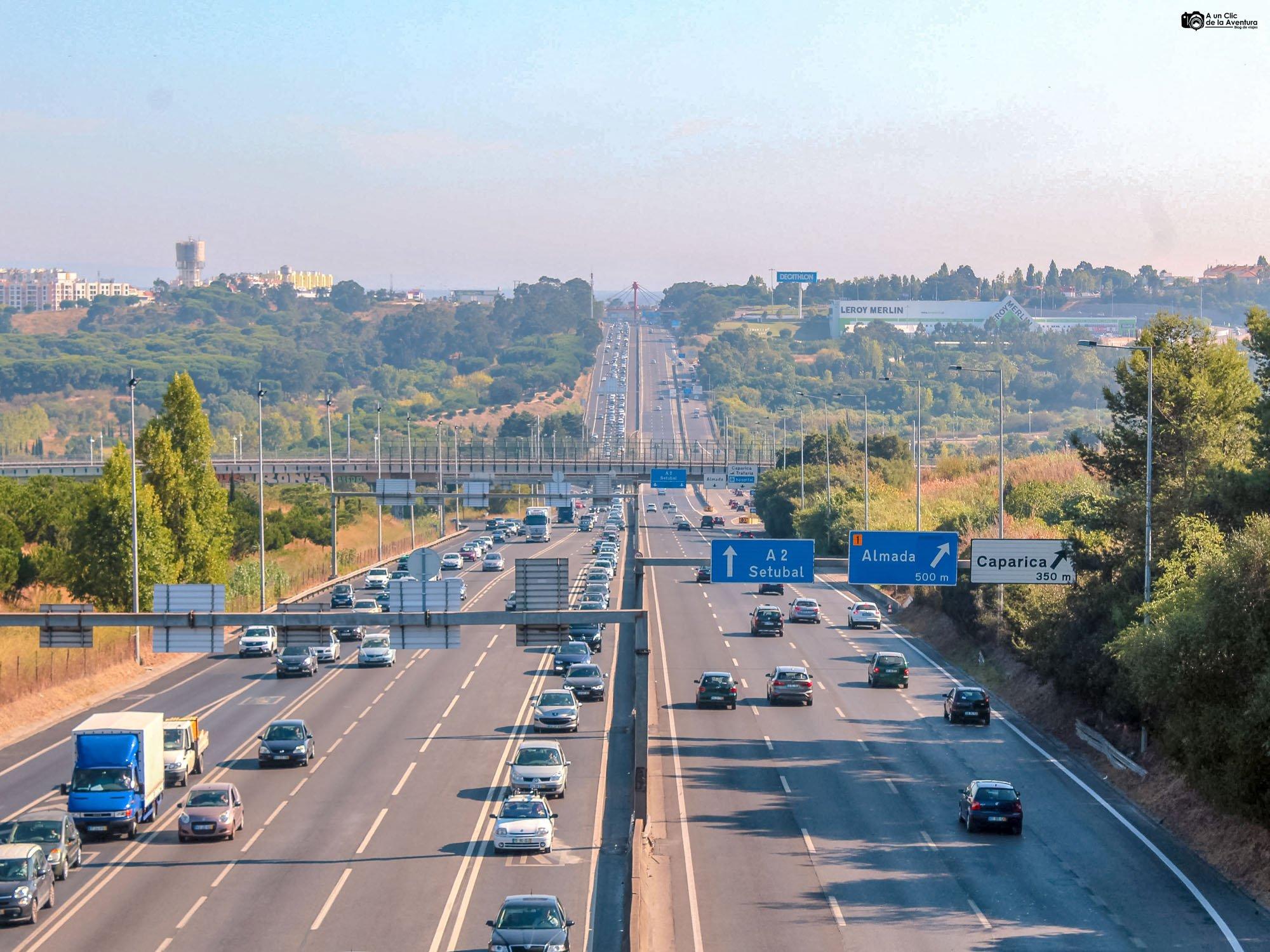 Autopista A2, Portugal