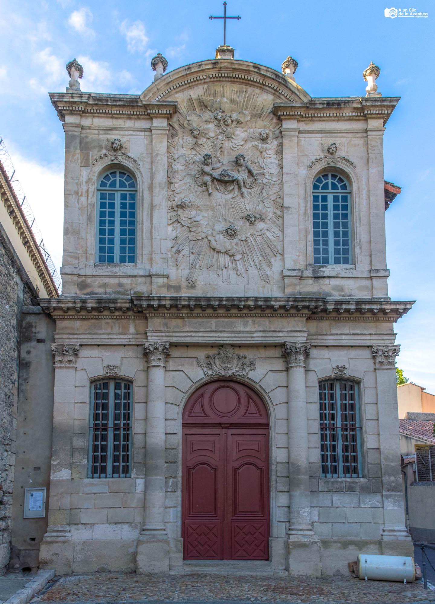 Capilla de los Penitentes Negros de Avignon