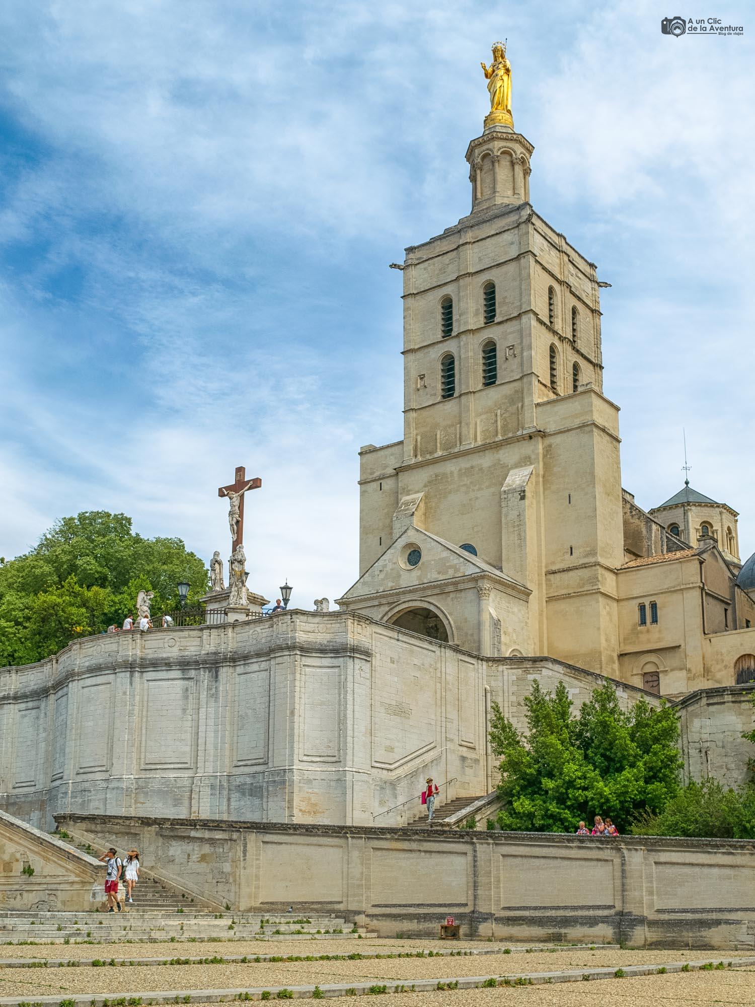 Catedral de Notre-Dame des Doms en Avignon