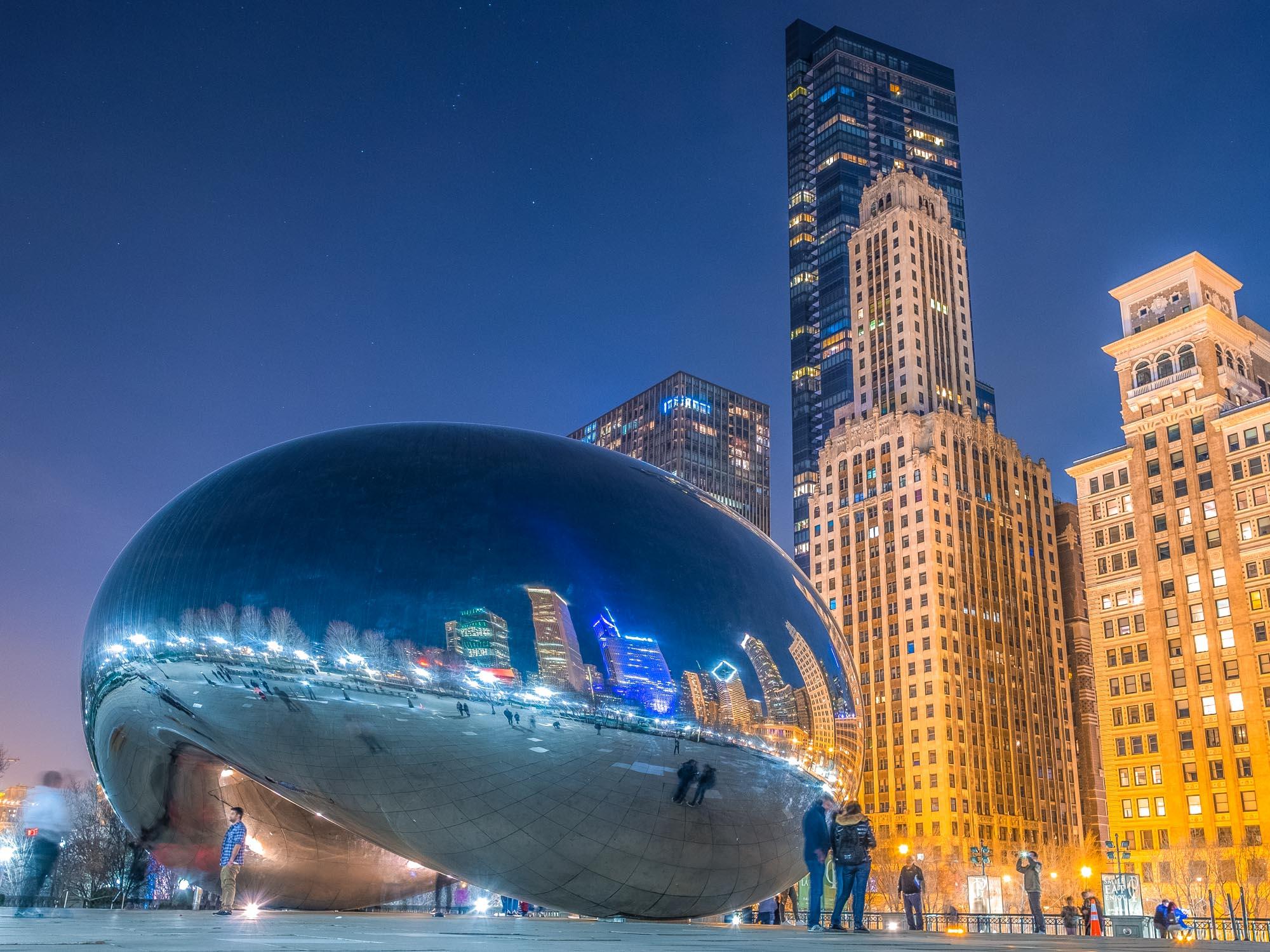 The Bean en Millennium Pak, Chicago