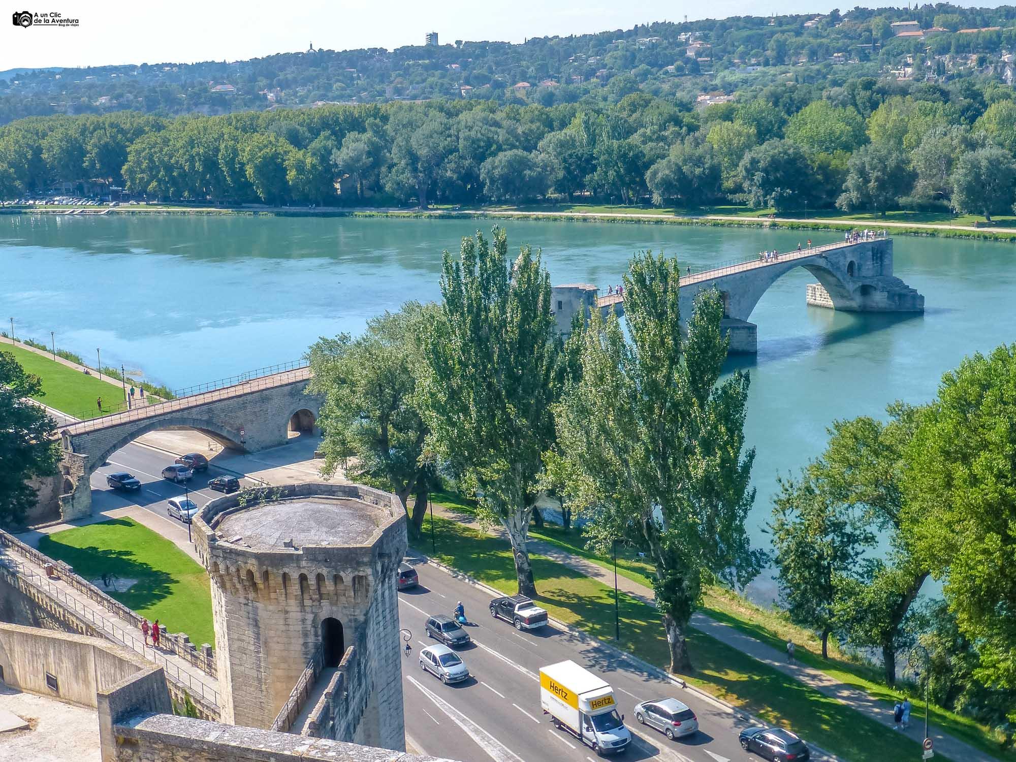 Murallas y Puente de Avignon