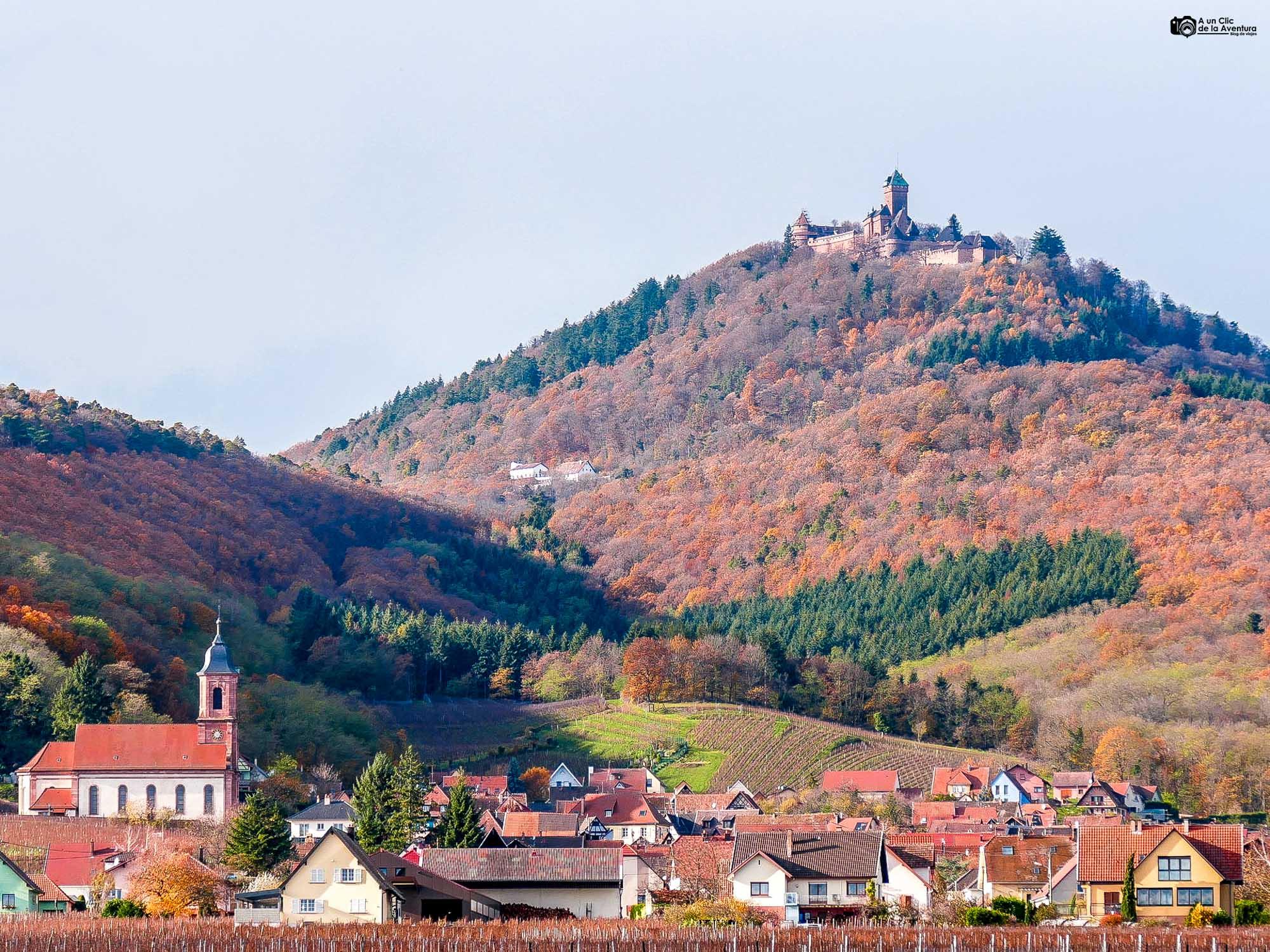 Orschwiller y el castillo de Haut-Koenigsbourg