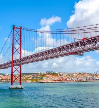 Peajes en Portugal, Puente 25 de abril Lisboa