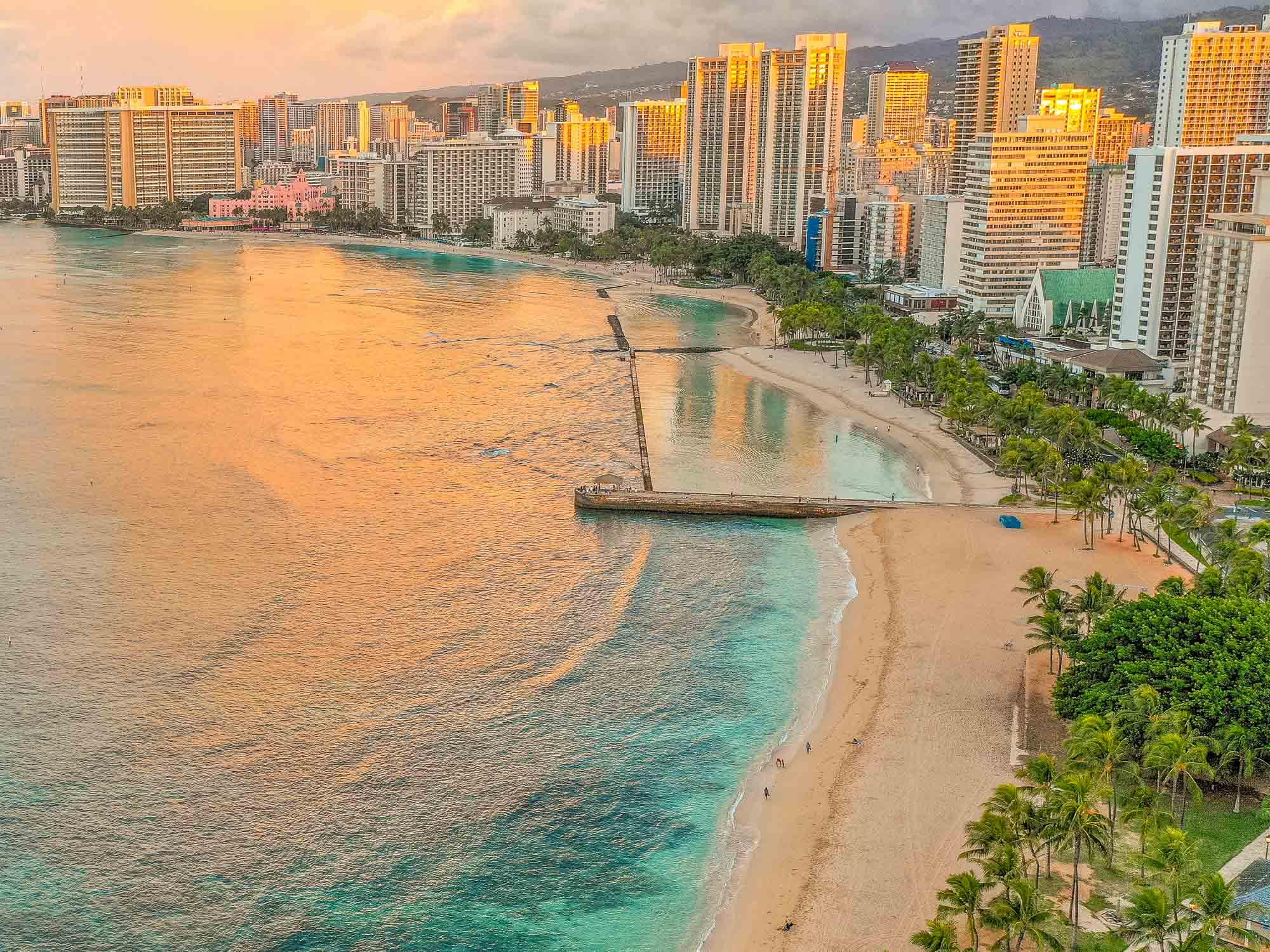 Playa de Waikiki, Honolulu