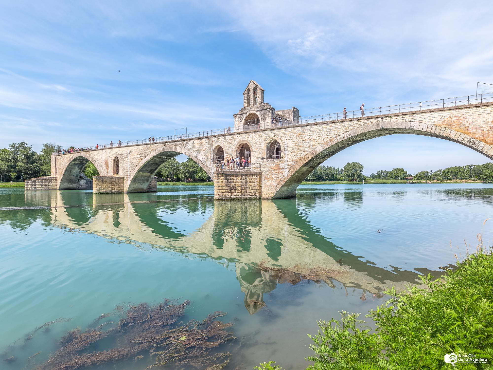 Puente de Avignon o Pont Saint Bénezet