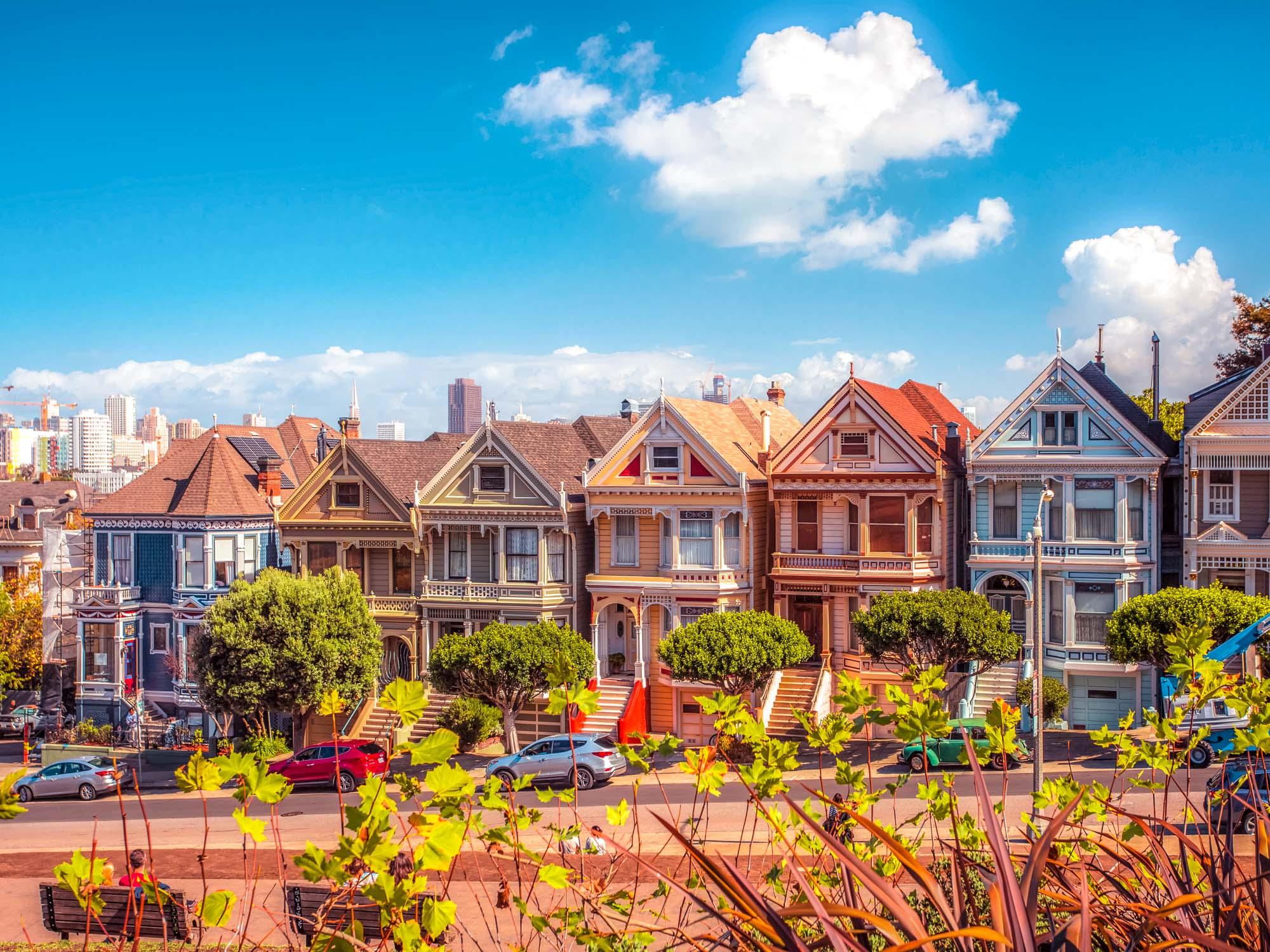 Casas victorianas de San Francisco