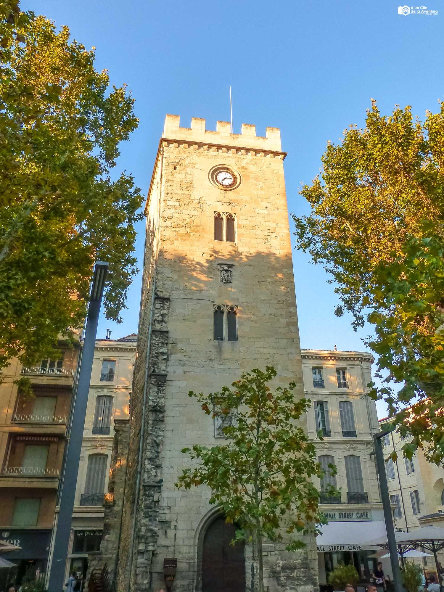 Torre de San Juan o Tour Saint-Jean en Avignon