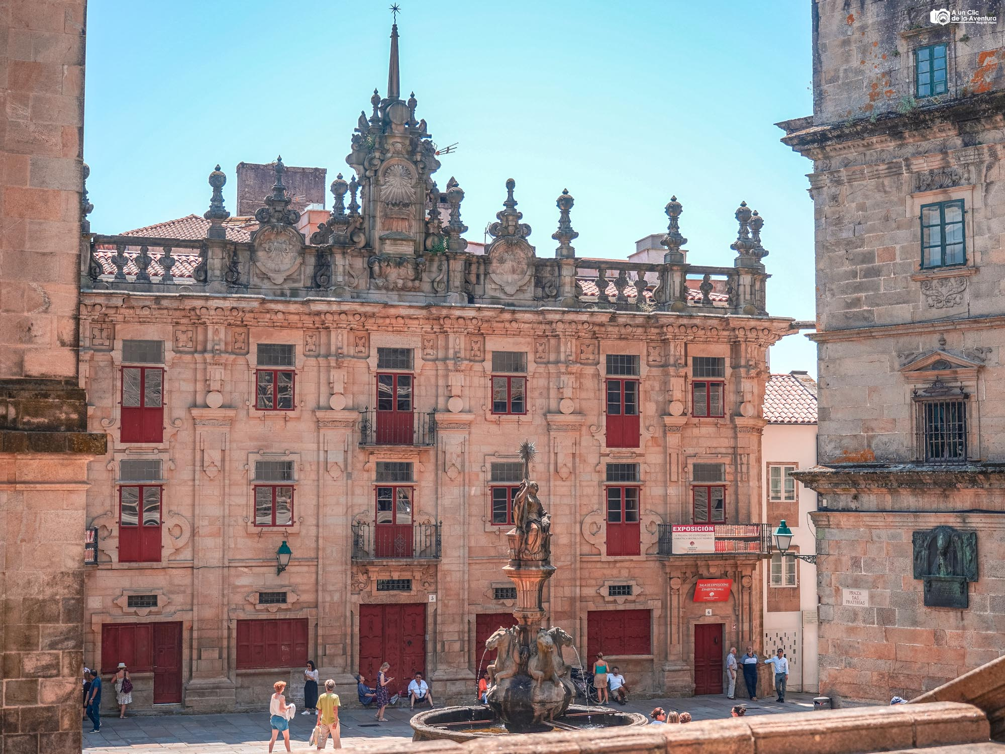 Casa del Cabildo en la Plaza de las Platerías, Santiago de Compostela