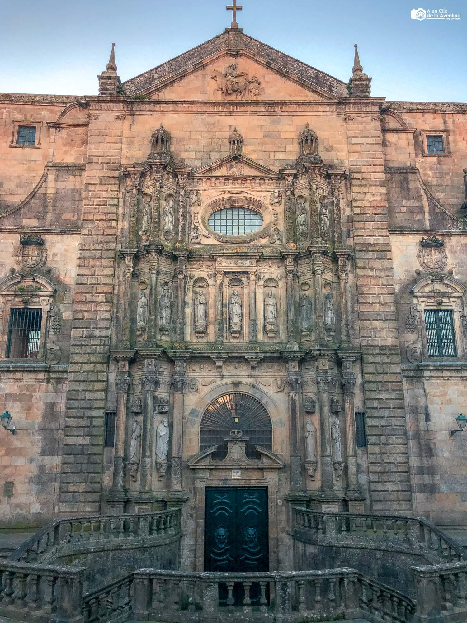 Iglesia de San Martiño Pinario, Santiago de Compostela