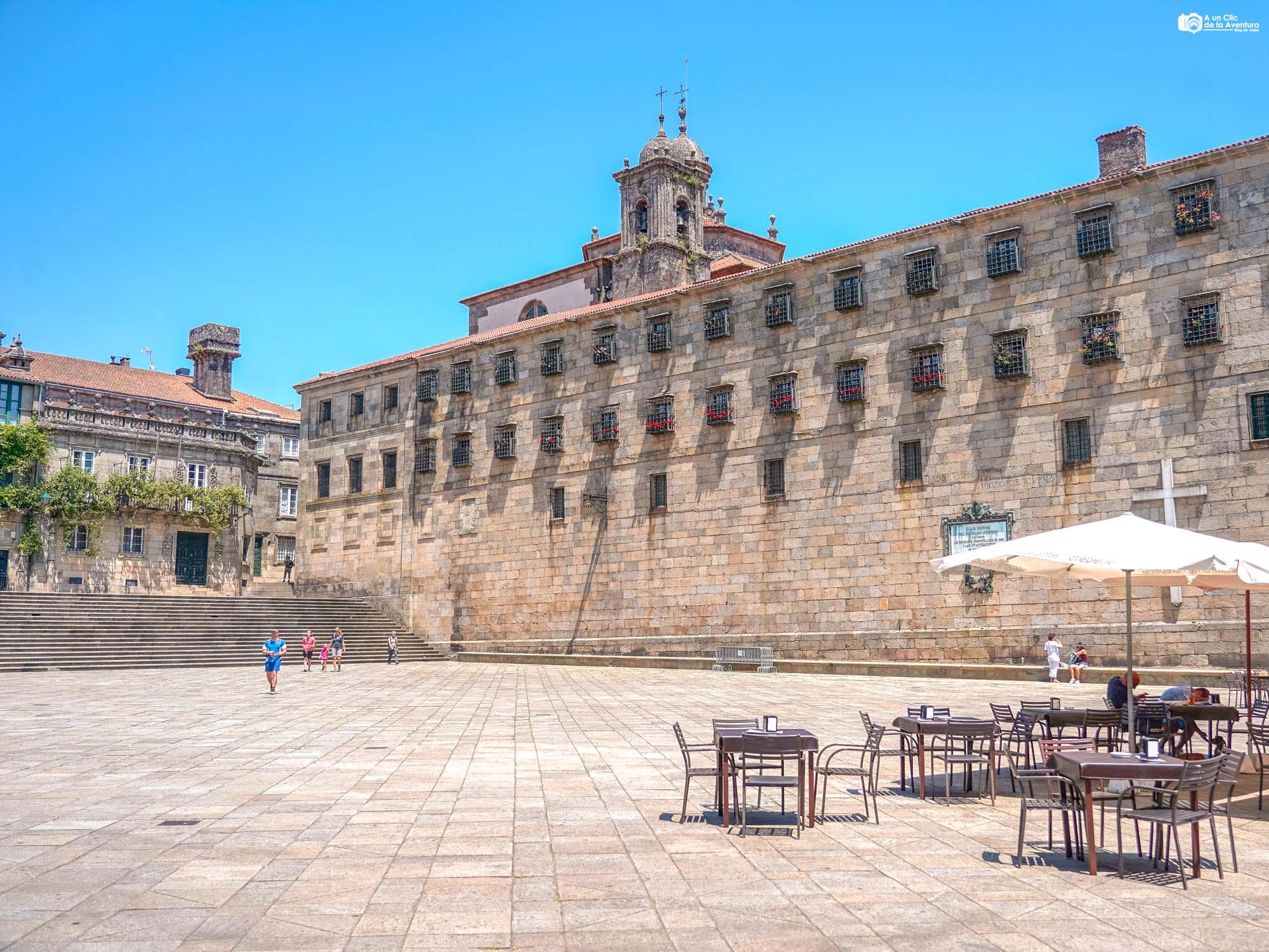 Monasterio de San Paio de Antealtares, Santiago de Compostela