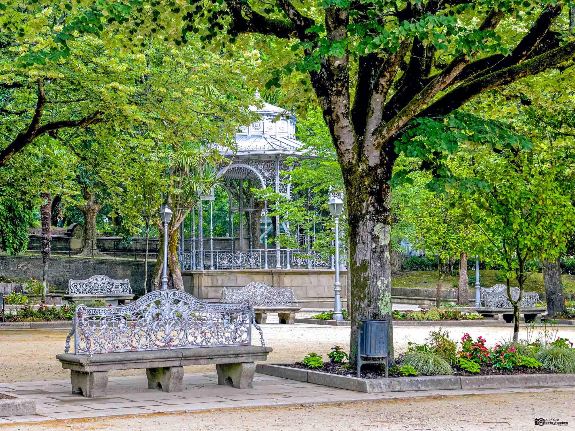 Parque de la Alameda, Santiago de Compostela