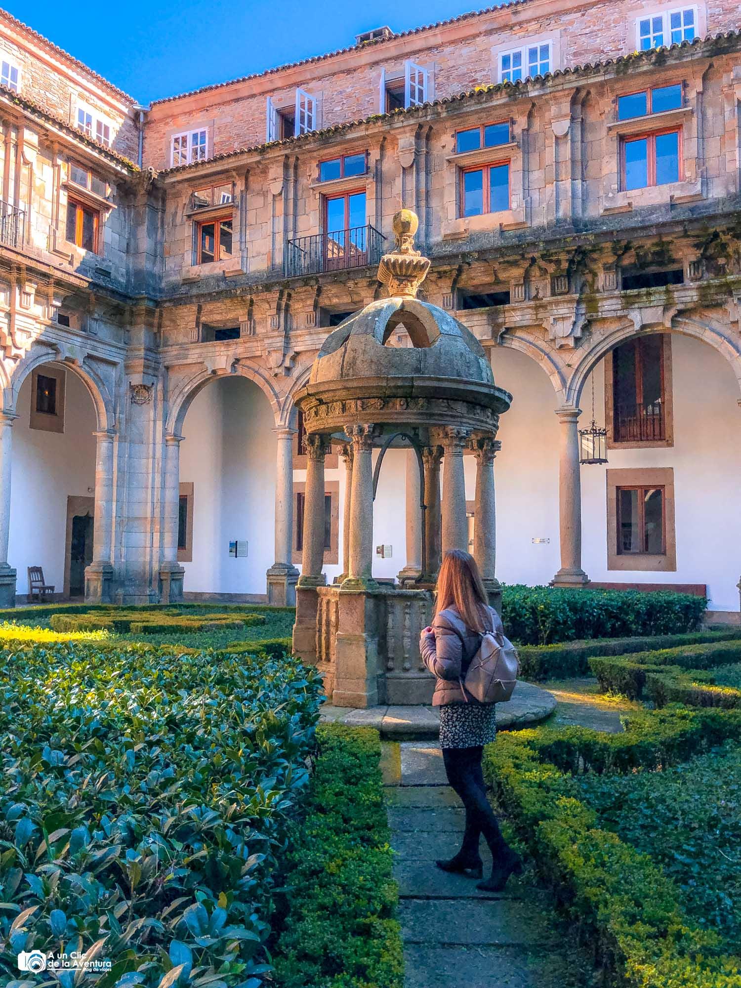 Patio de San Mateo, Hostal de los Reyes Católicos. Santiago de Compostela