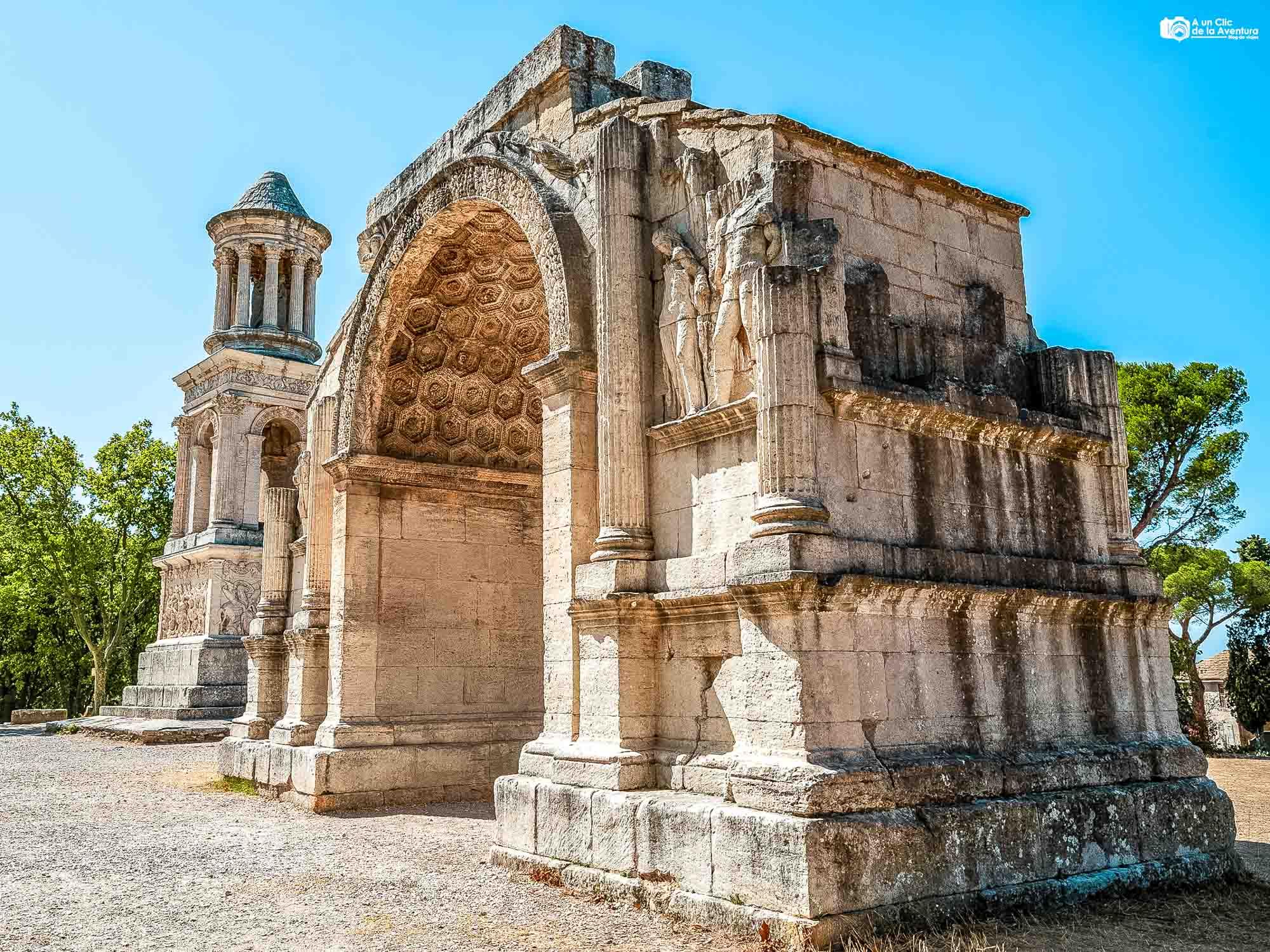 Ciudad romana de Glanum
