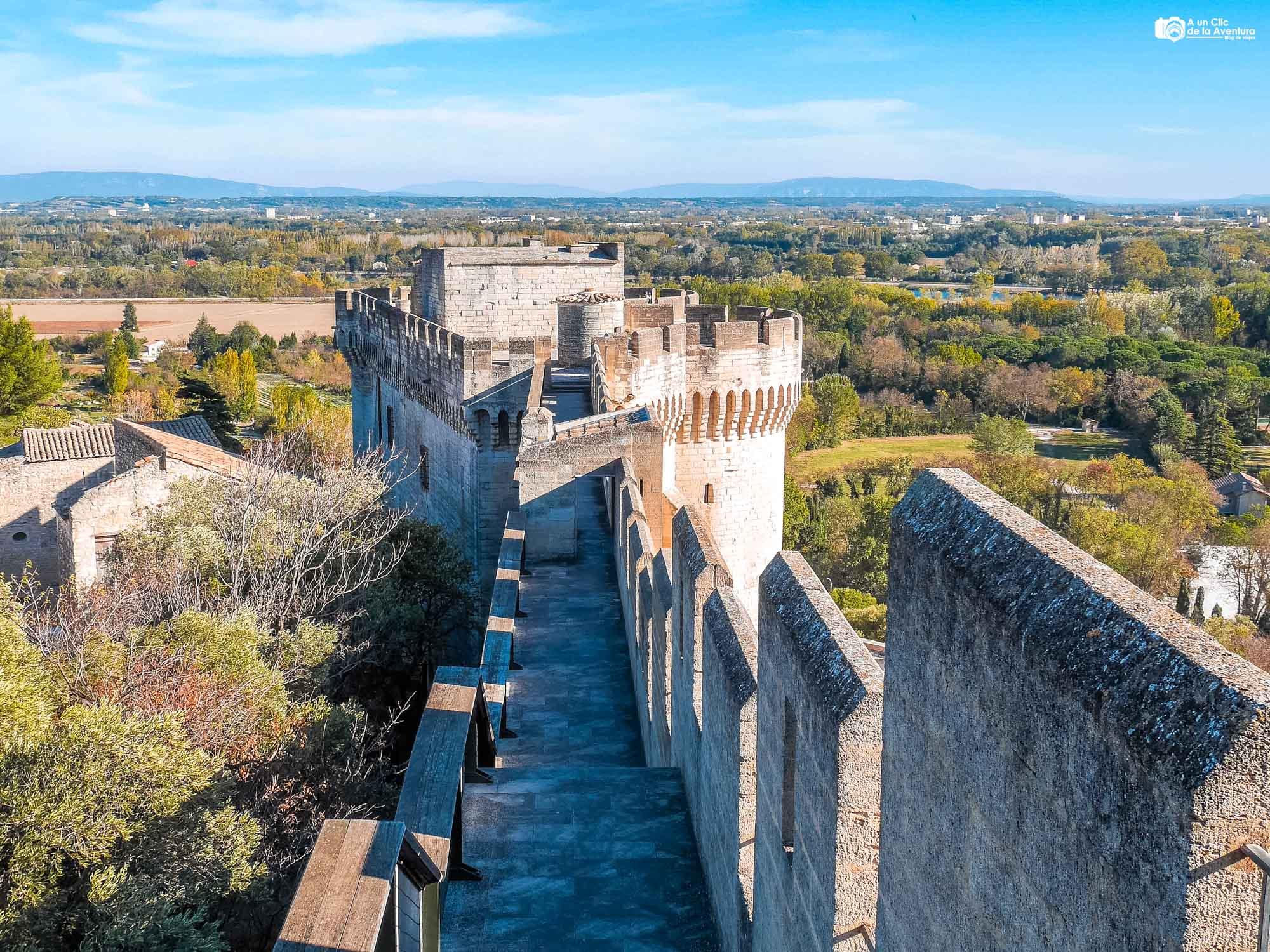 Fuerte de San Andrés en Villeneuve-les-Avignon