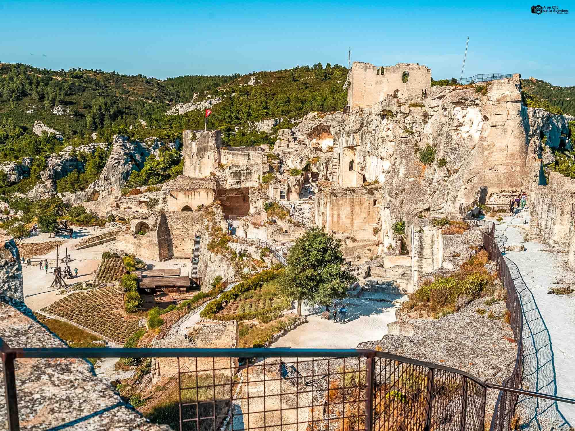 Castillo des Baux en Les Baux-de-Provence