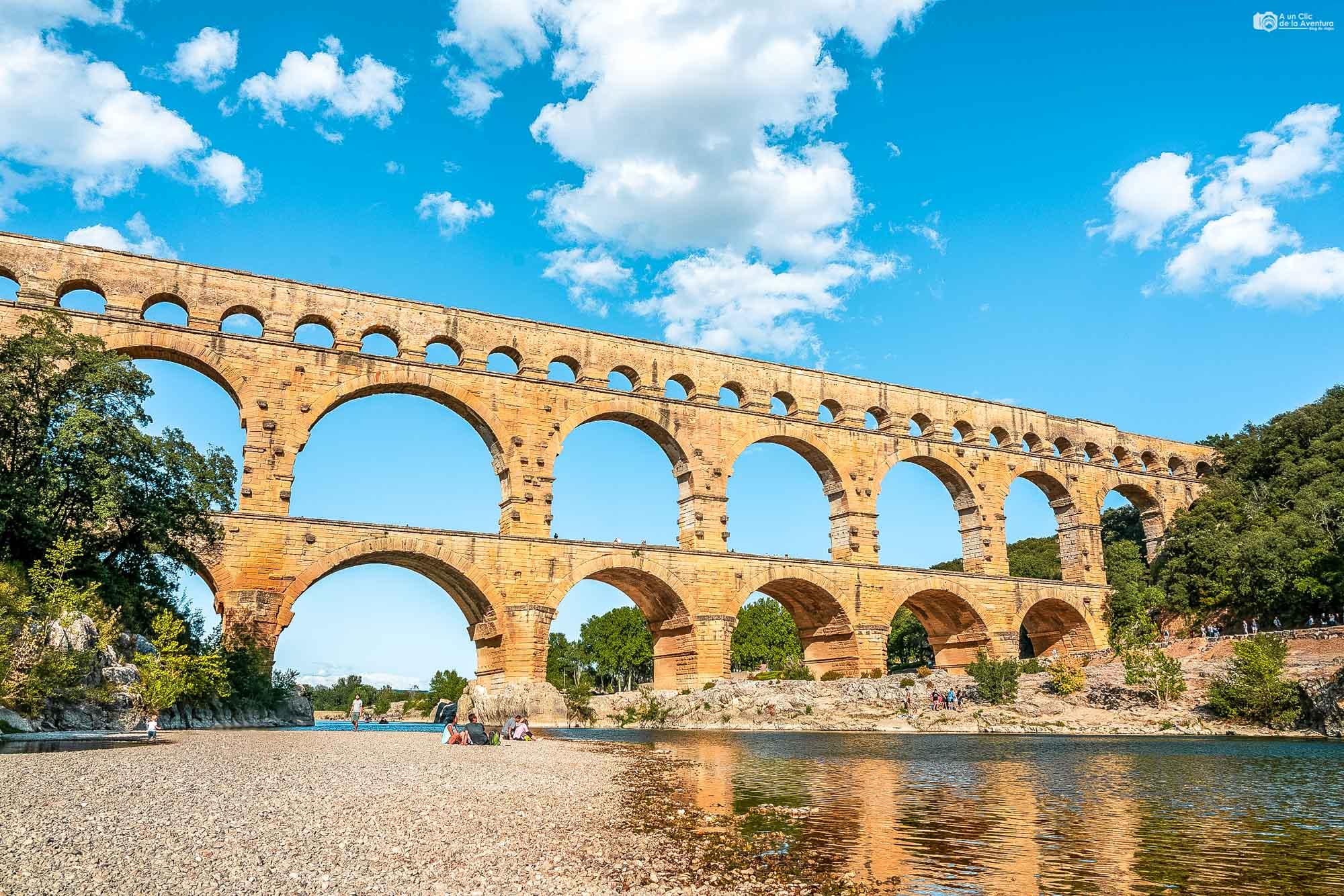 Pont du Gard, que ver cerca de Avignon