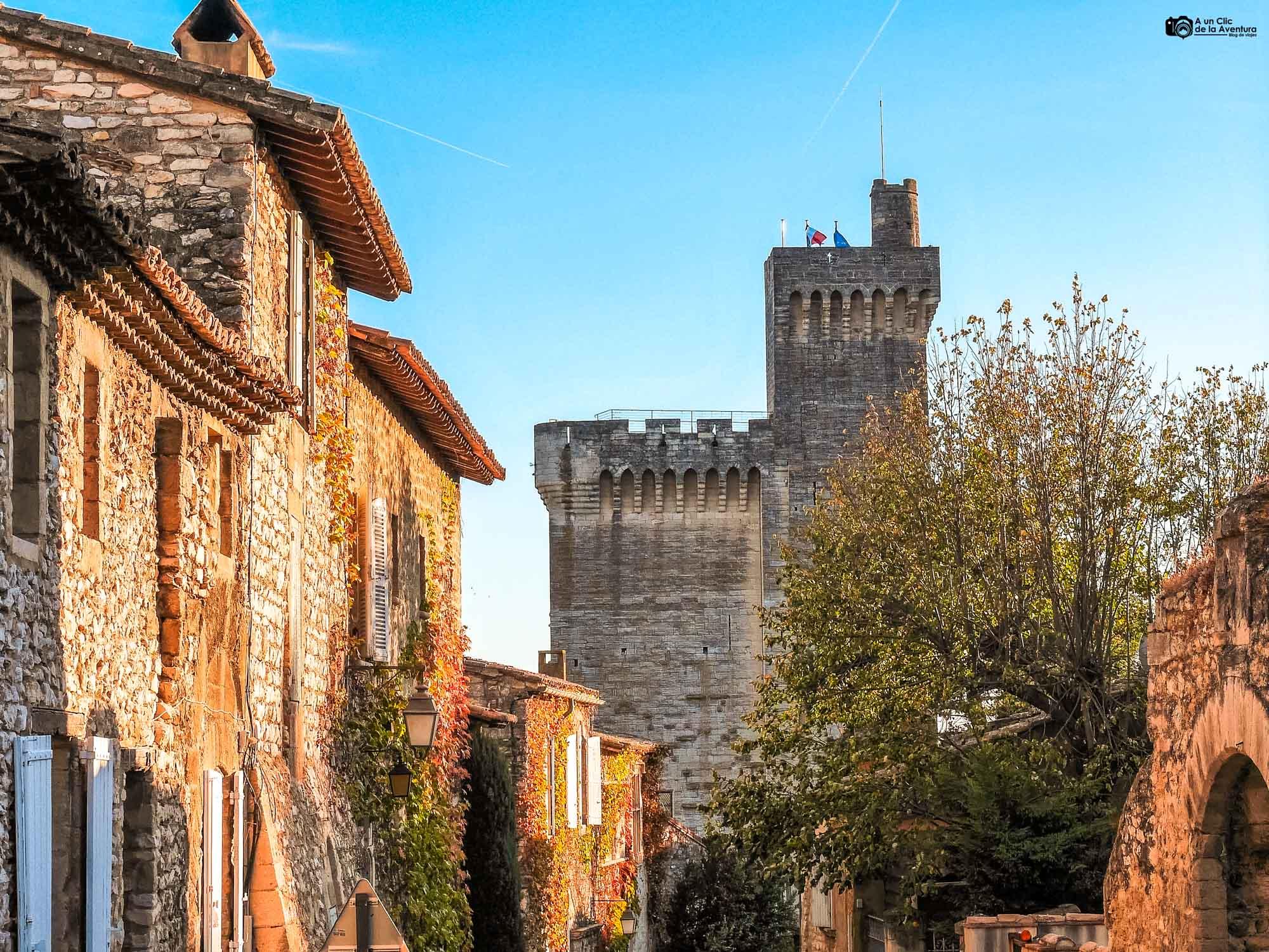 Torre de Felipe el Hermoso en Villeneuve-les-Avignon