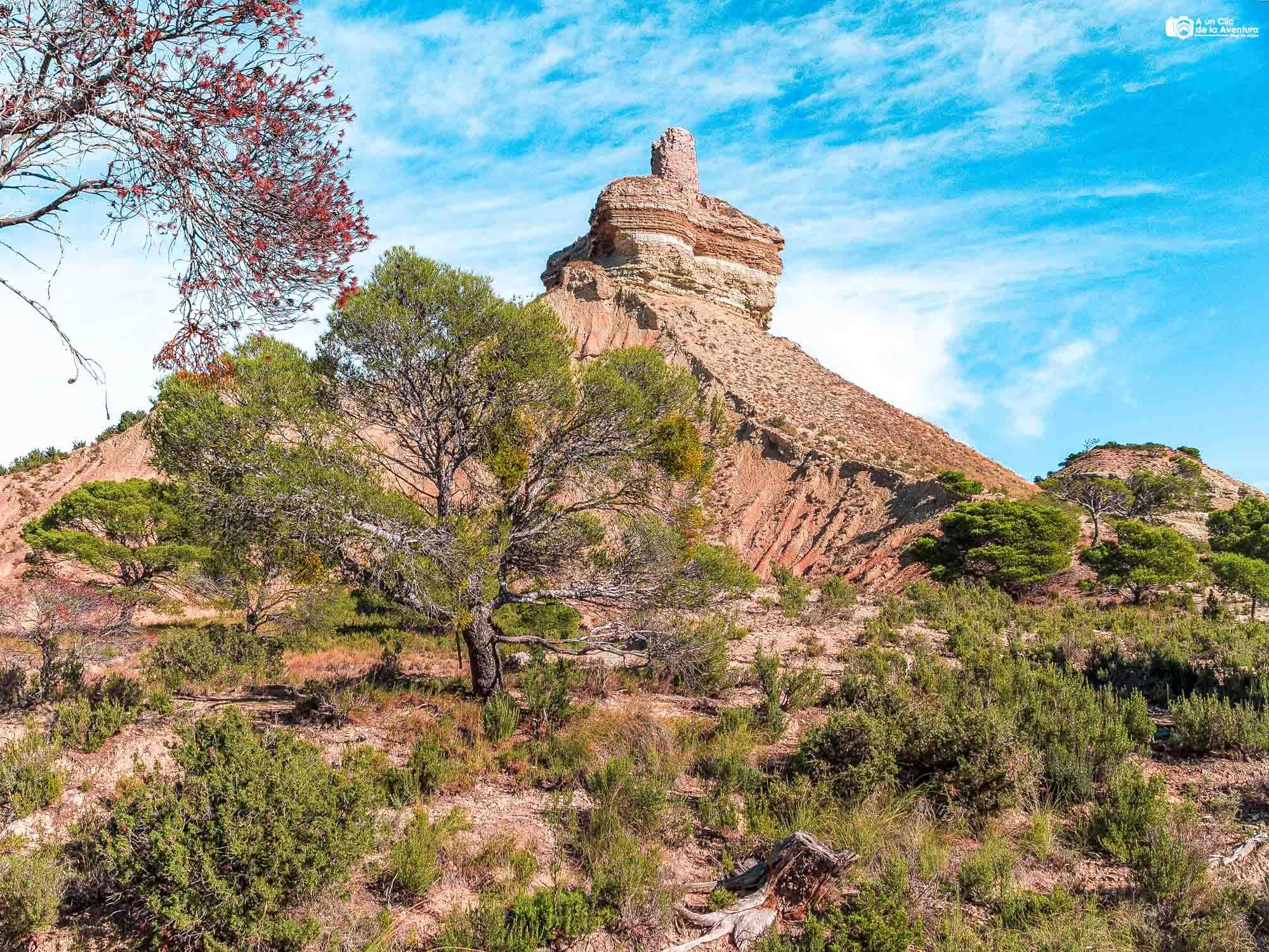 Castillo de Peñaflor, Bardenas Reales