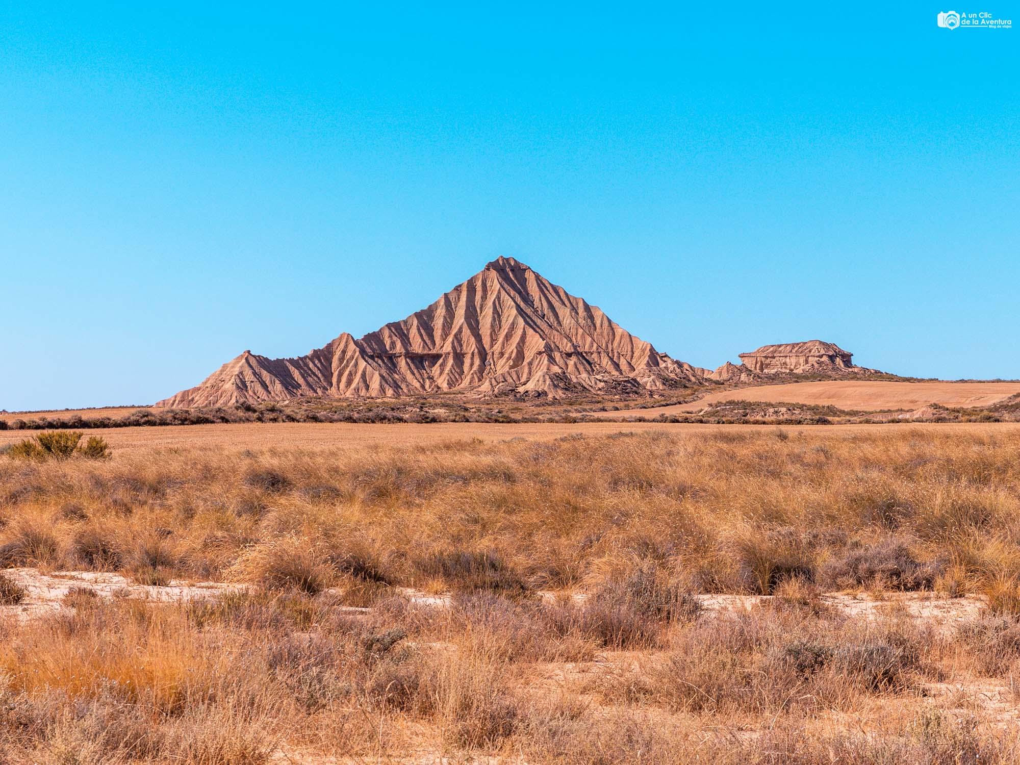 Cerro en las Bardenas Reales