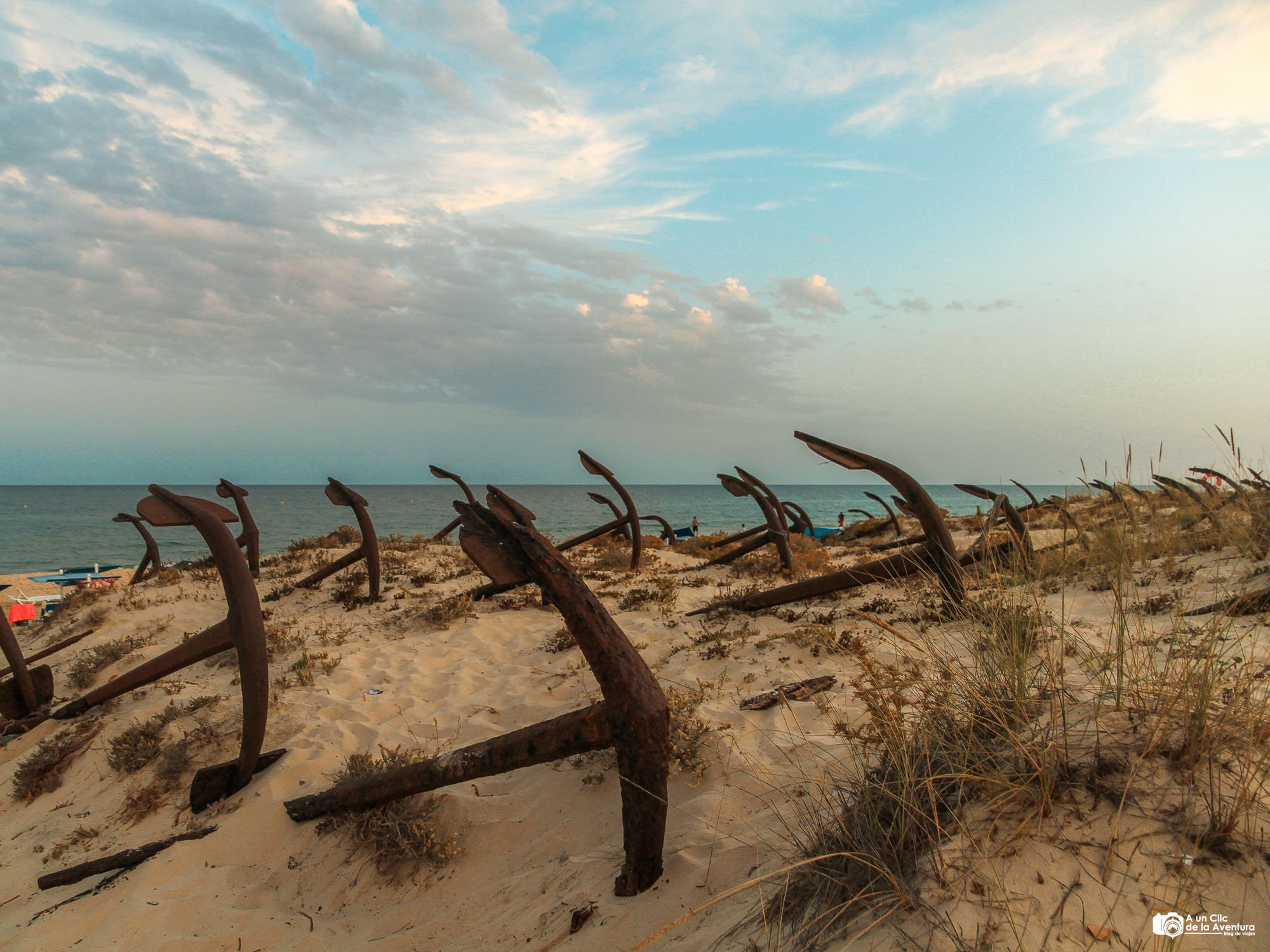 Cementerio de Anclas de la Praia do Barril