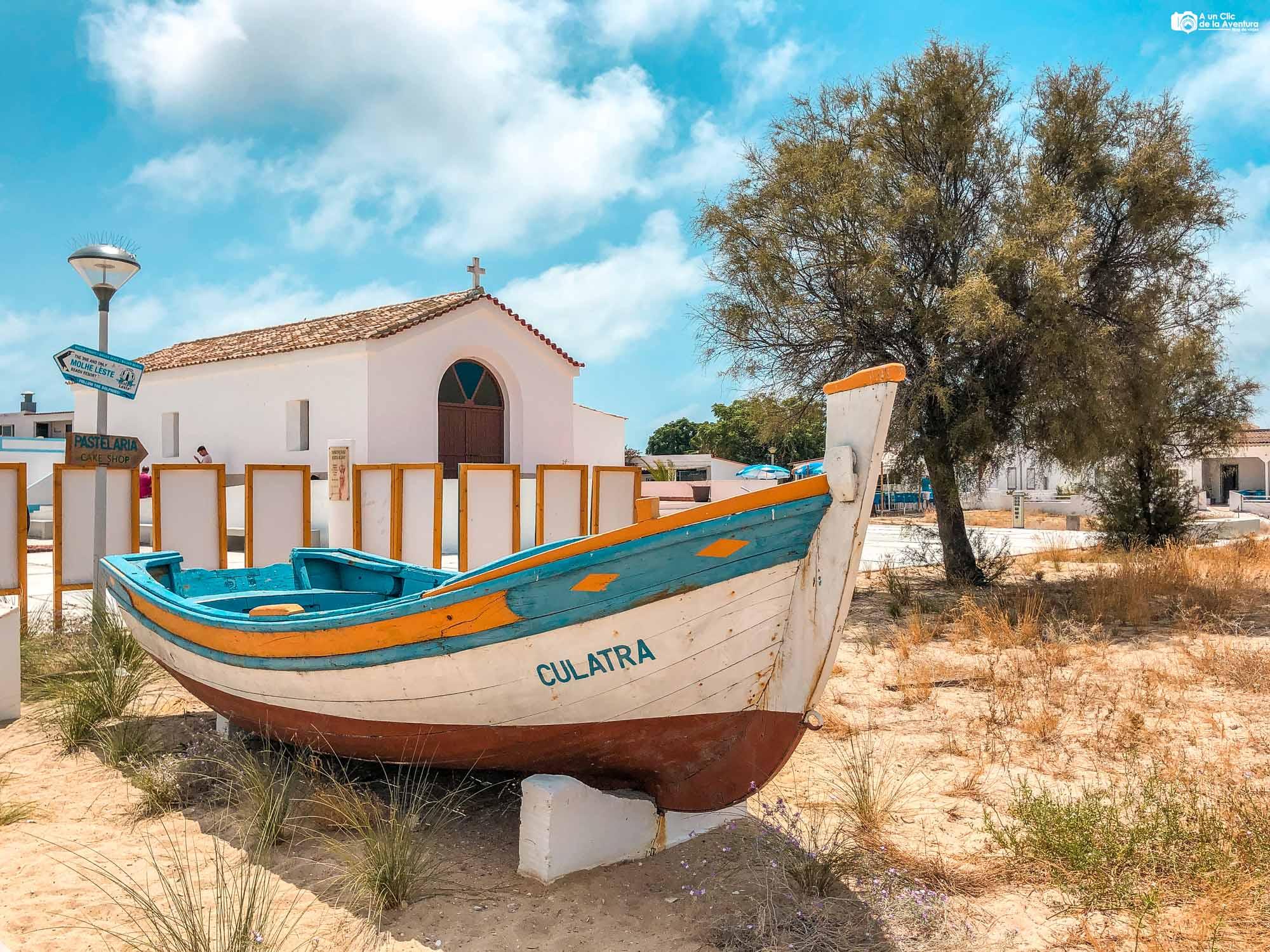 Isla de Culatra que ver en el Algarve