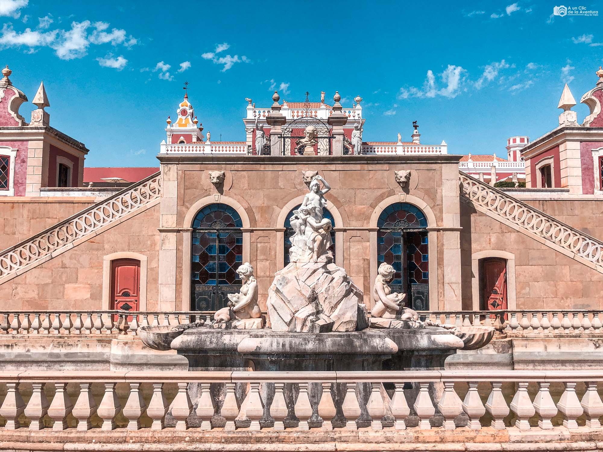 Palacio de Estói que ver en el Algarve