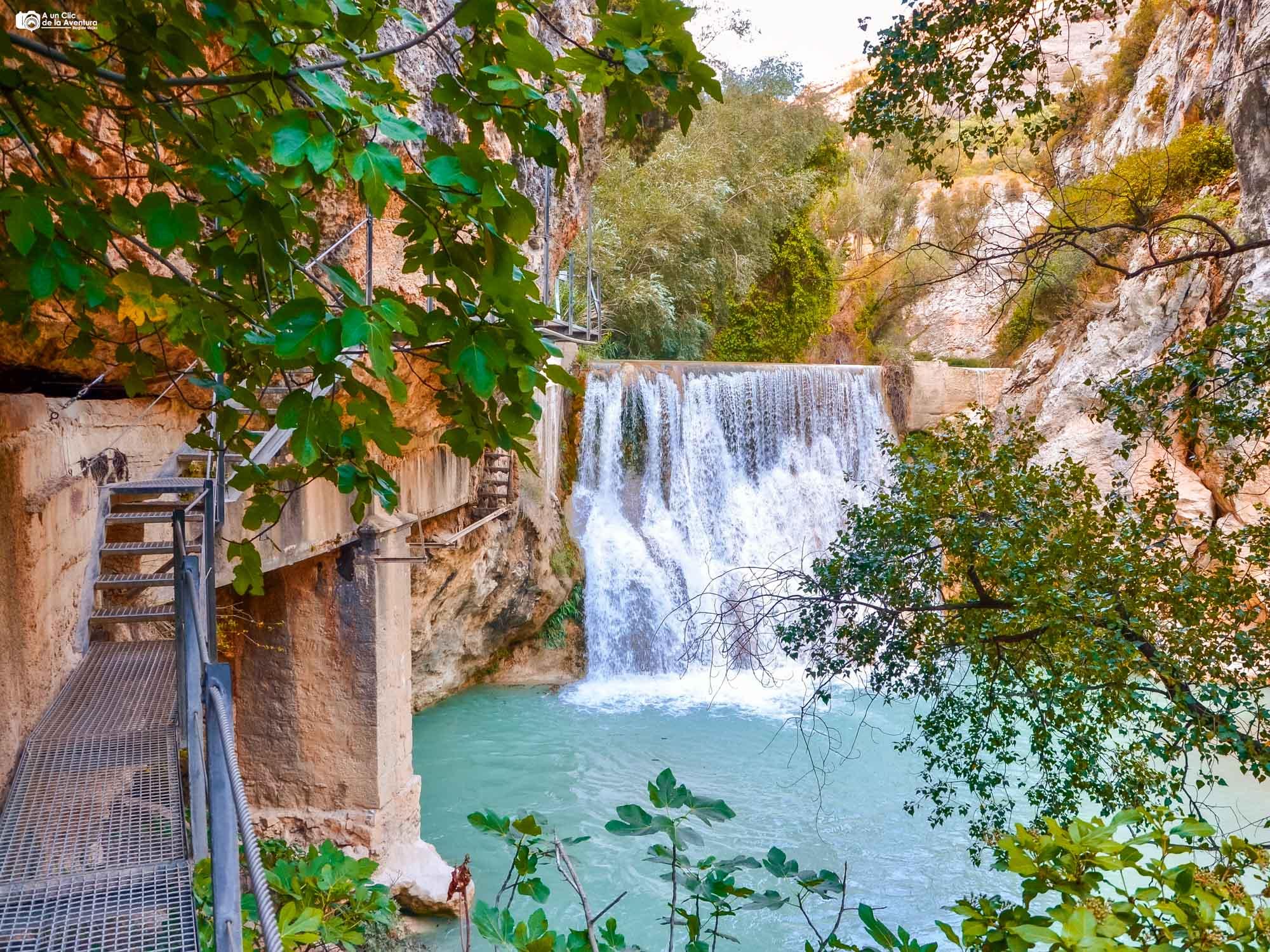 Pasarelas del río Vero en Alquézar