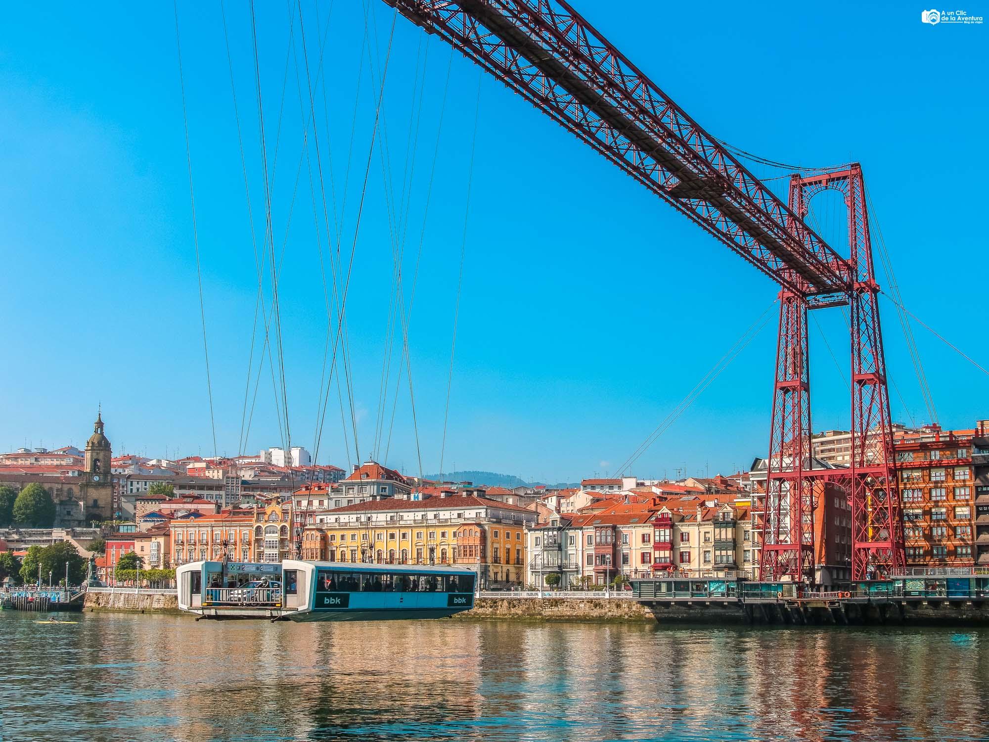 Puente de Vizcaya o Puente Colgante de Portugalete
