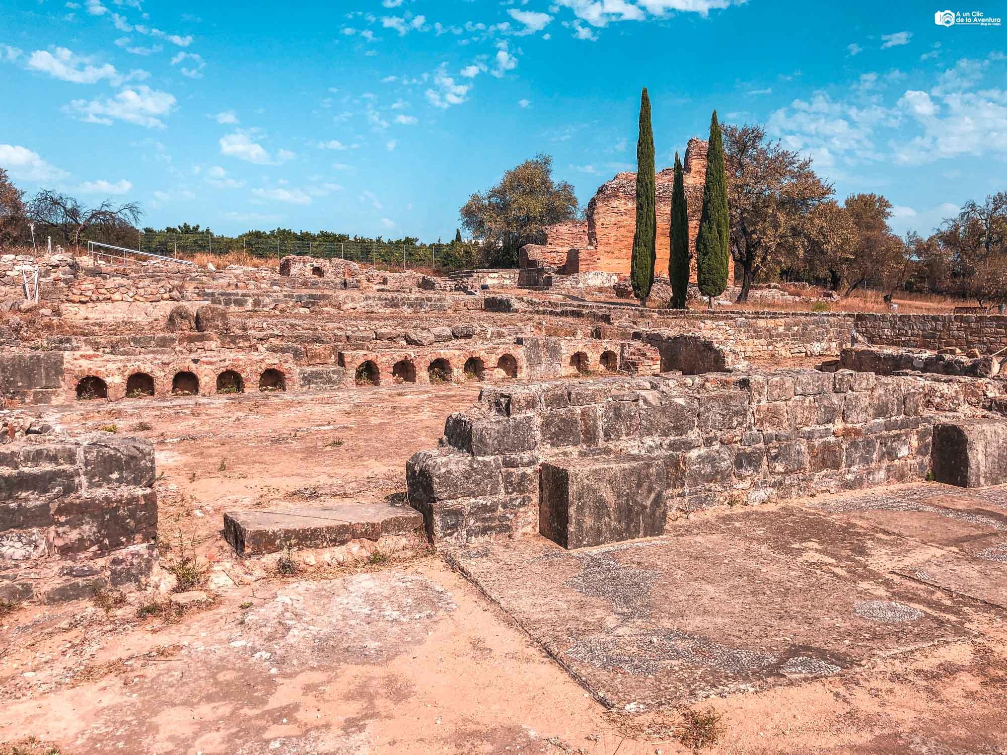 Ruinas romanas de Milreu que ver en el Algarve