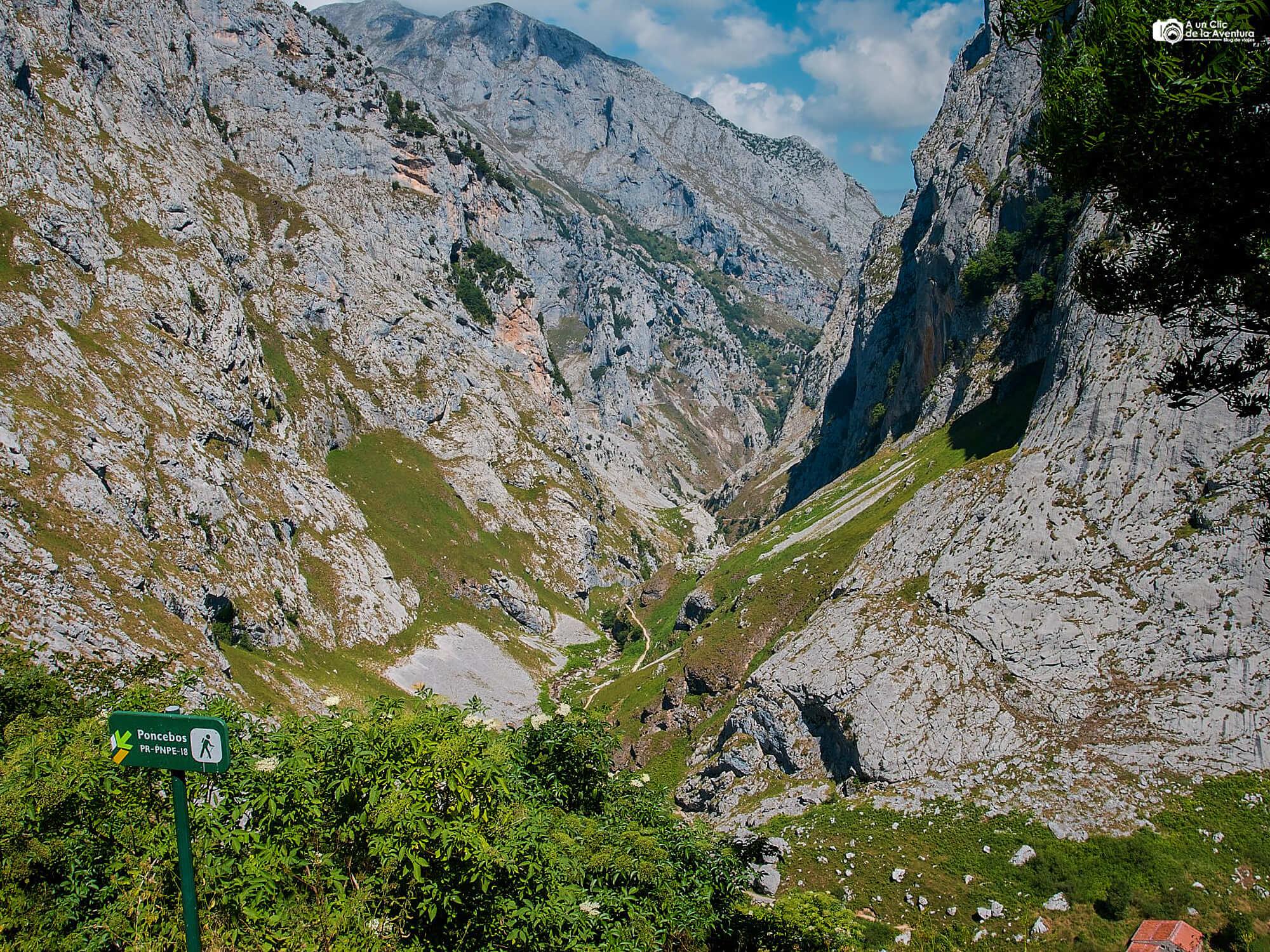 Ruta de Puente Poncebos a Bulnes - Rutas por los Picos de Europa